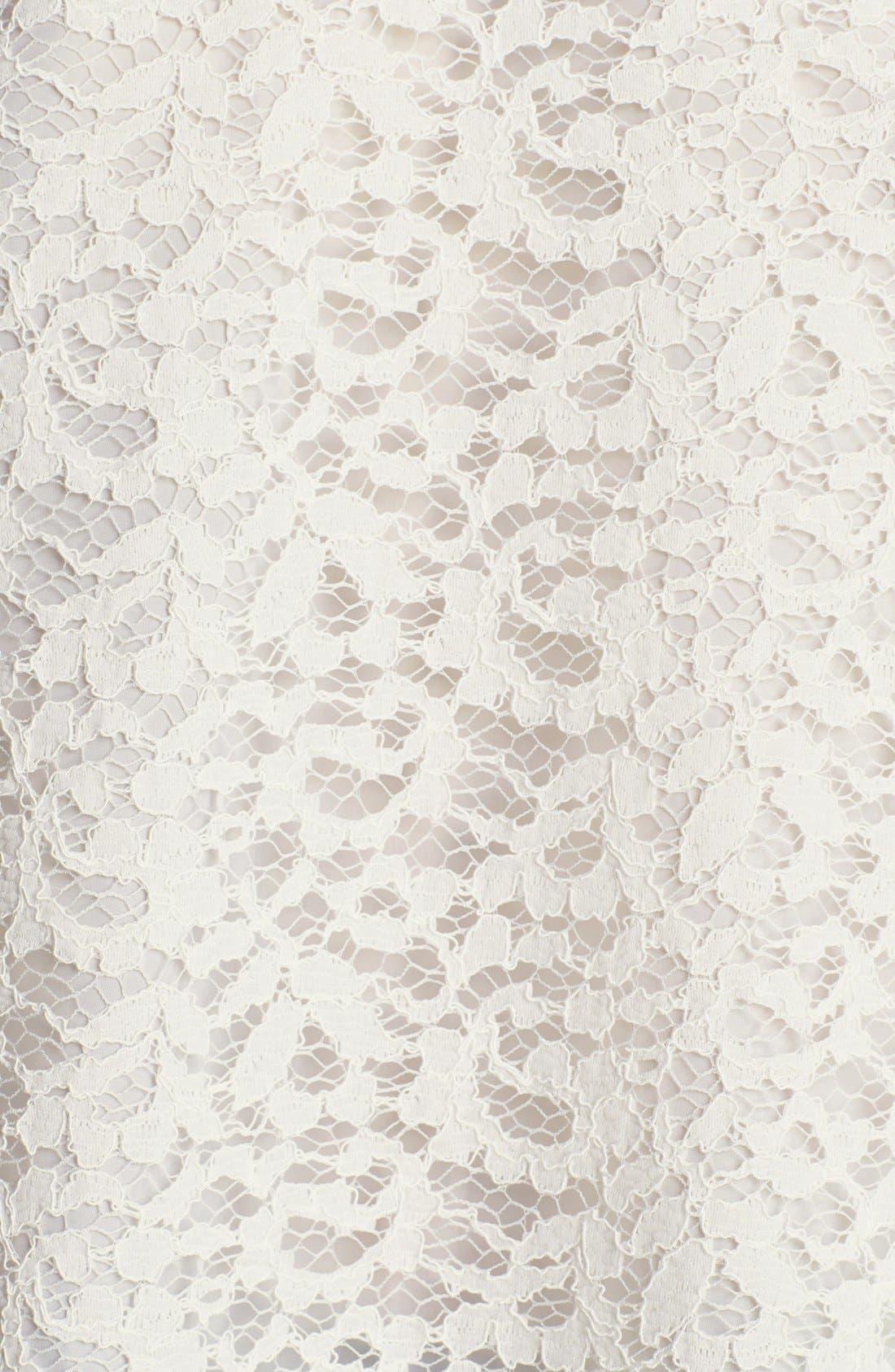 Alternate Image 3  - The Kooples Peter Pan Collar Lace Blouse