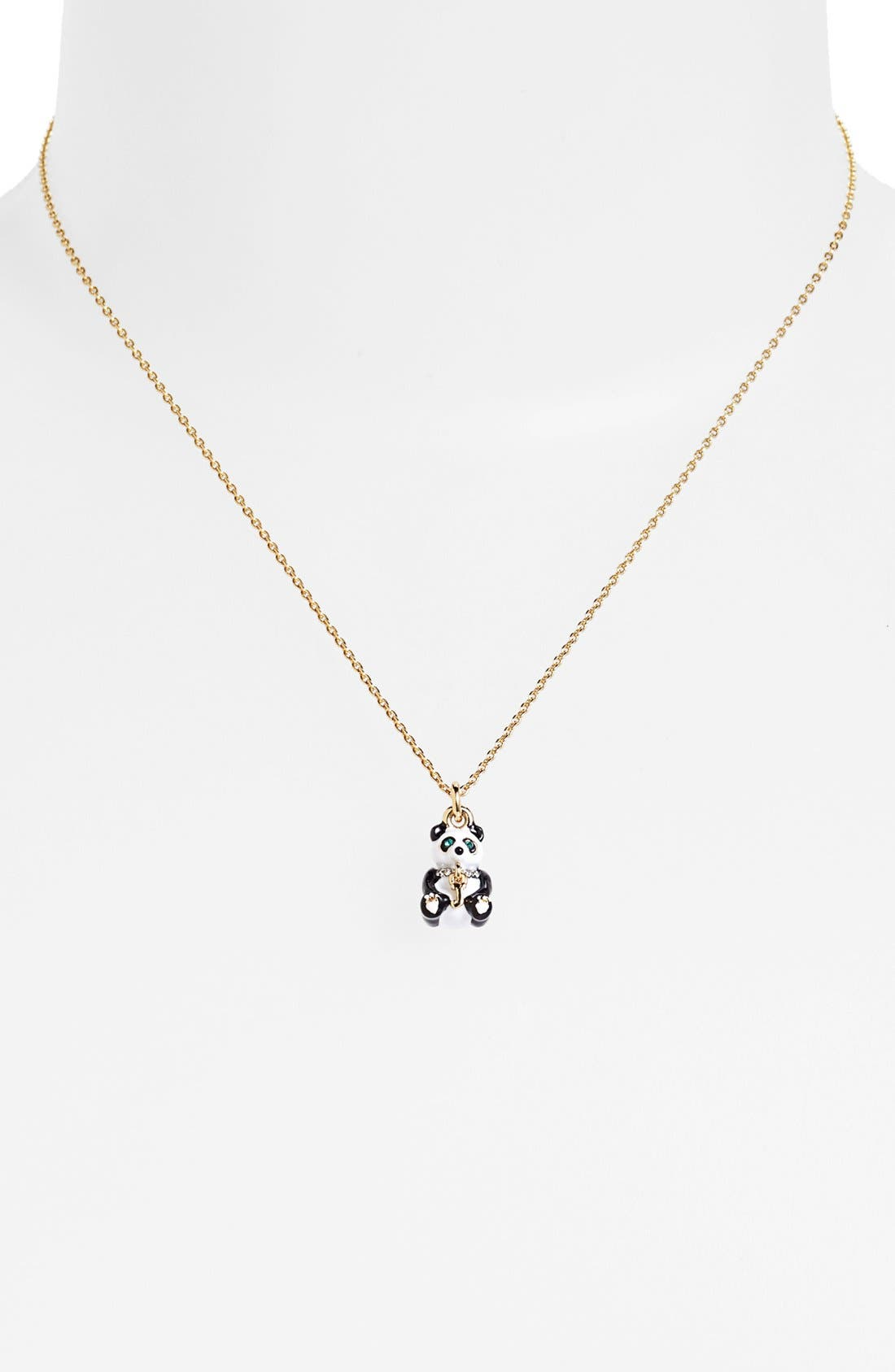 Main Image - Juicy Couture Boxed Panda Charm Pendant Necklace