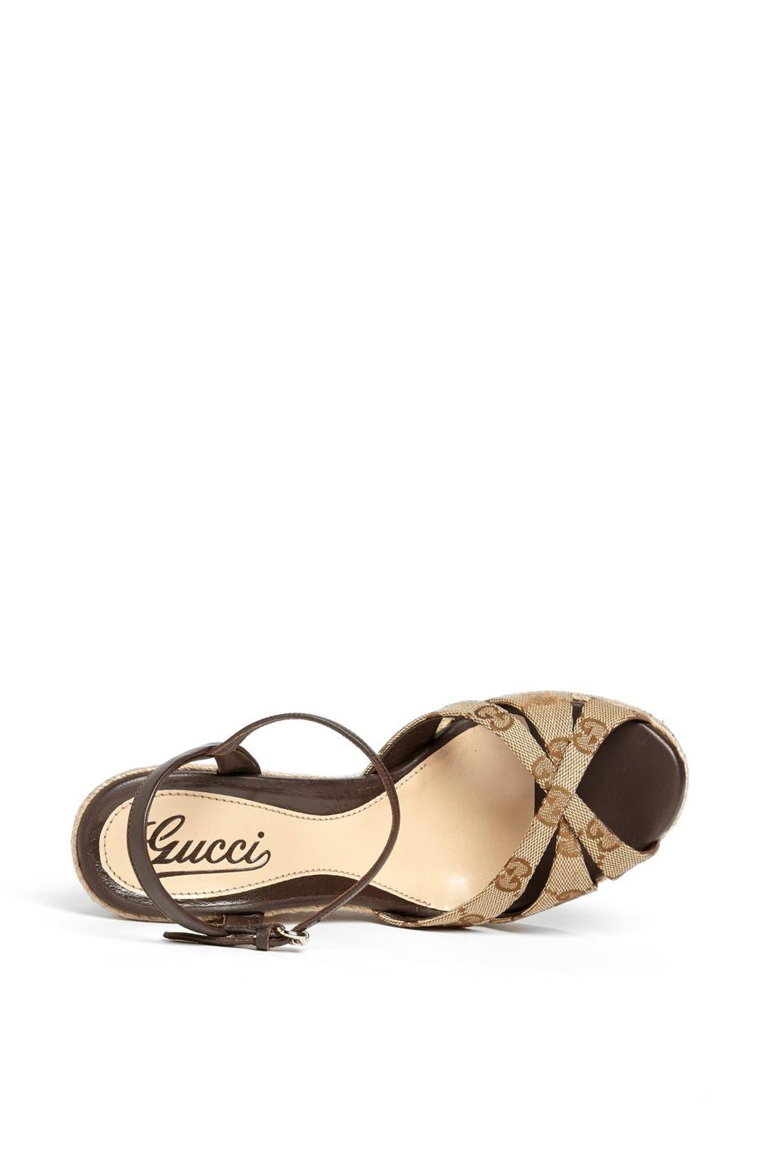 Alternate Image 3  - Gucci 'Penelope' Espadrille Sandal