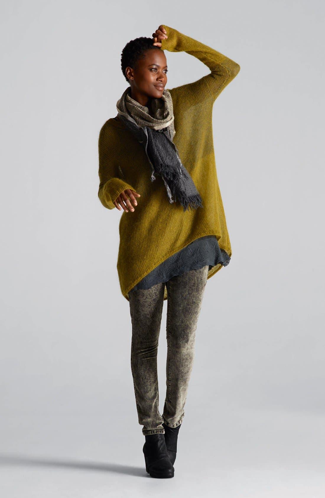 Alternate Image 4  - Eileen Fisher Stretch Velveteen Skinny Jeans