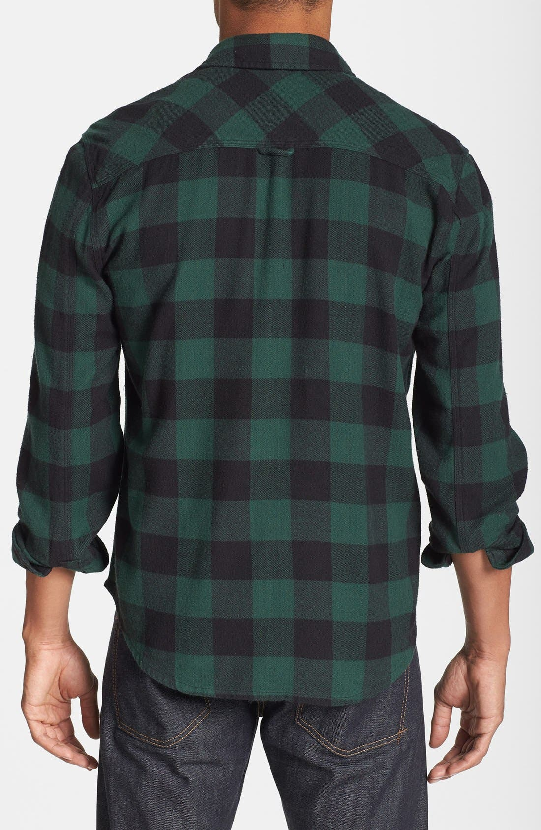 Alternate Image 2  - Alternative 'Timbers Up' Check Flannel Shirt