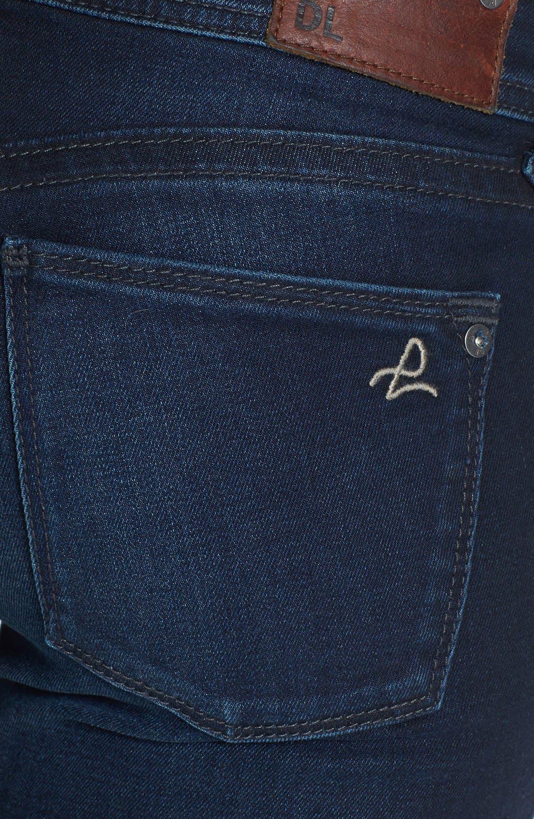 Alternate Image 3  - DL1961 'Amanda' Distressed Skinny Jeans (Seville)