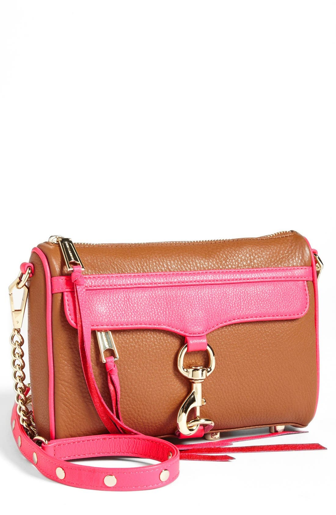 Alternate Image 1 Selected - Rebecca Minkoff 'Mini MAC' Crossbody Clutch (Nordstrom Exclusive)