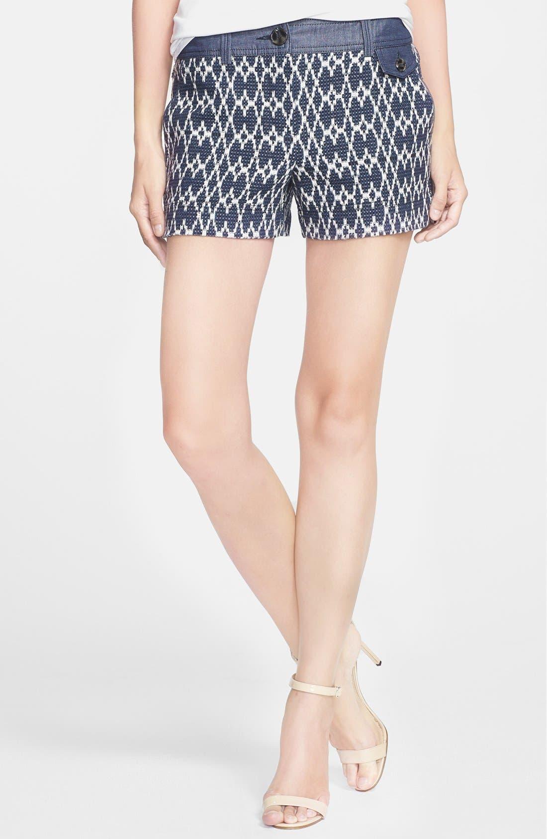 Alternate Image 1 Selected - Trina Turk 'Santiago' Cotton Blend Shorts