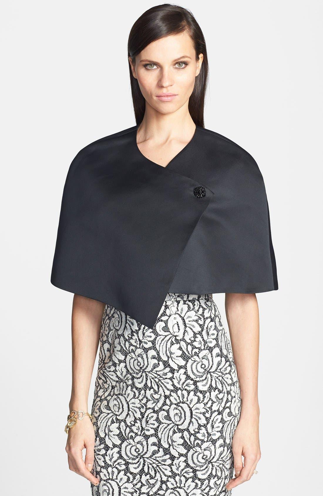 Alternate Image 1 Selected - St. John Collection Duchesse Asymmetrical Wrap