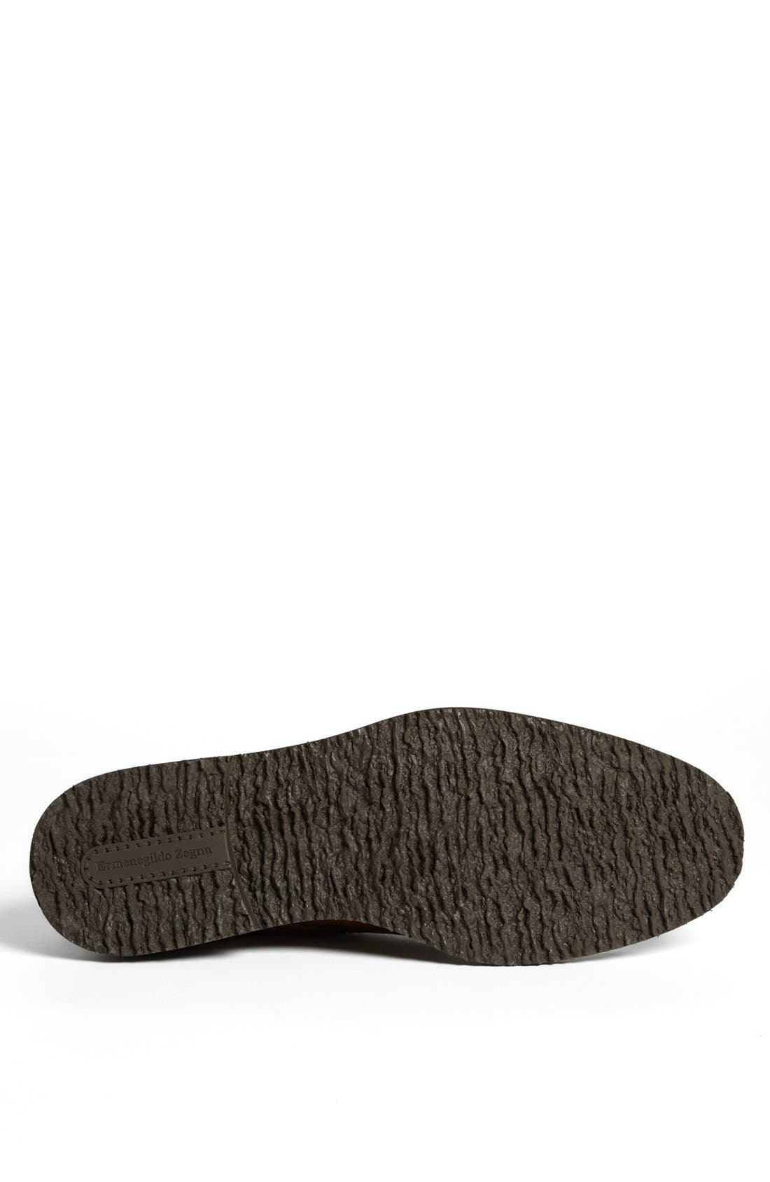 Alternate Image 4  - Ermenegildo Zegna Leather Chukka Boot
