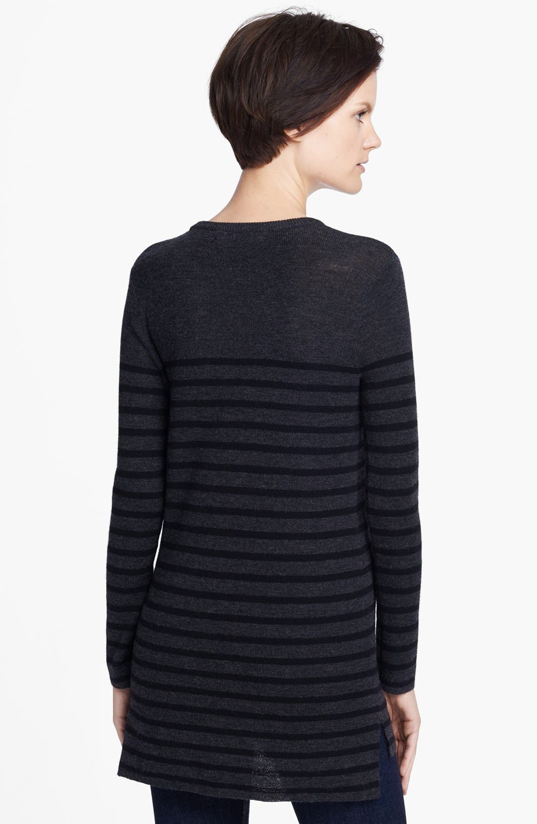 Alternate Image 2  - rag & bone 'Gigi' Stripe Merino Wool Tunic