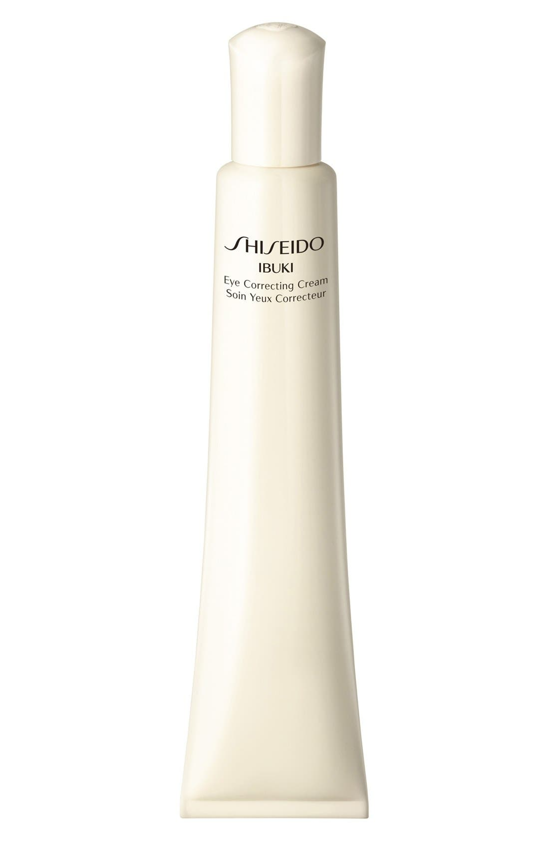 Shiseido 'Ibuki' Eye Correcting Cream