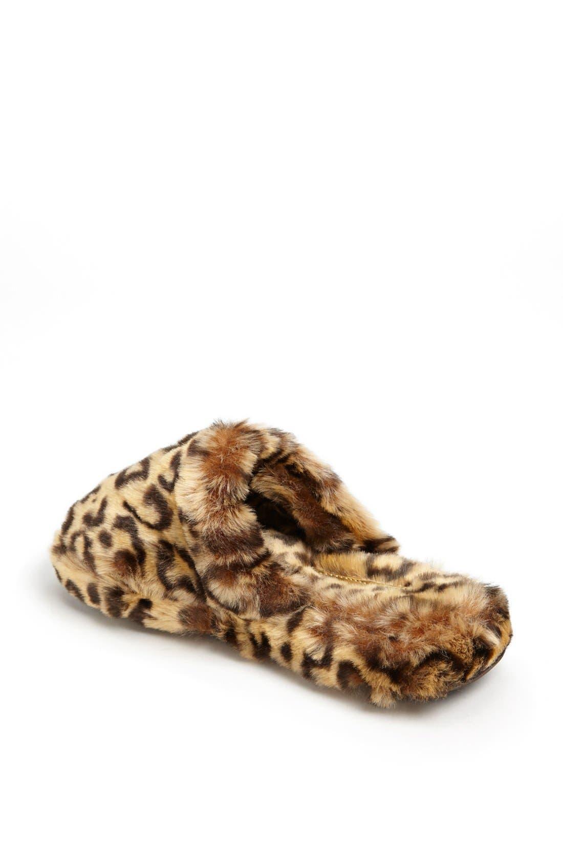 Alternate Image 2  - MICHAEL Michael Kors 'Jet Set' Faux Fur Slipper
