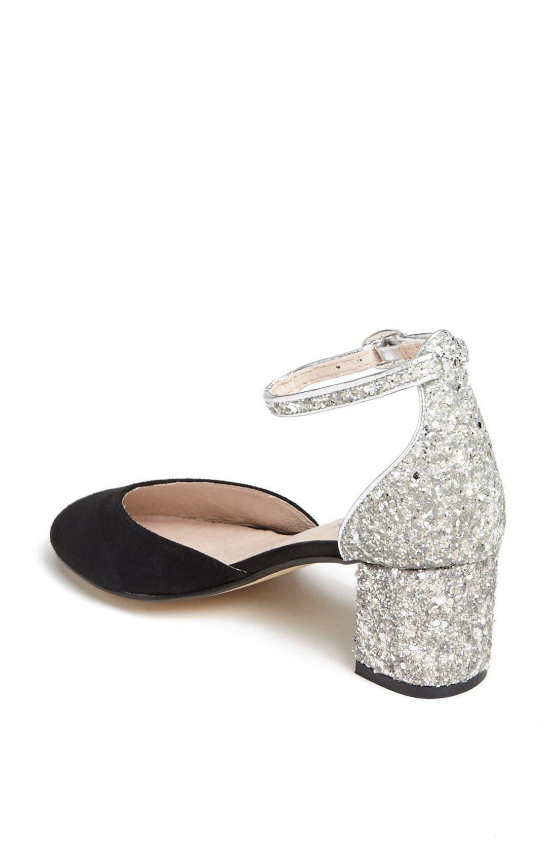Alternate Image 2  - Topshop 'Juniper' Glitter Heel Pump