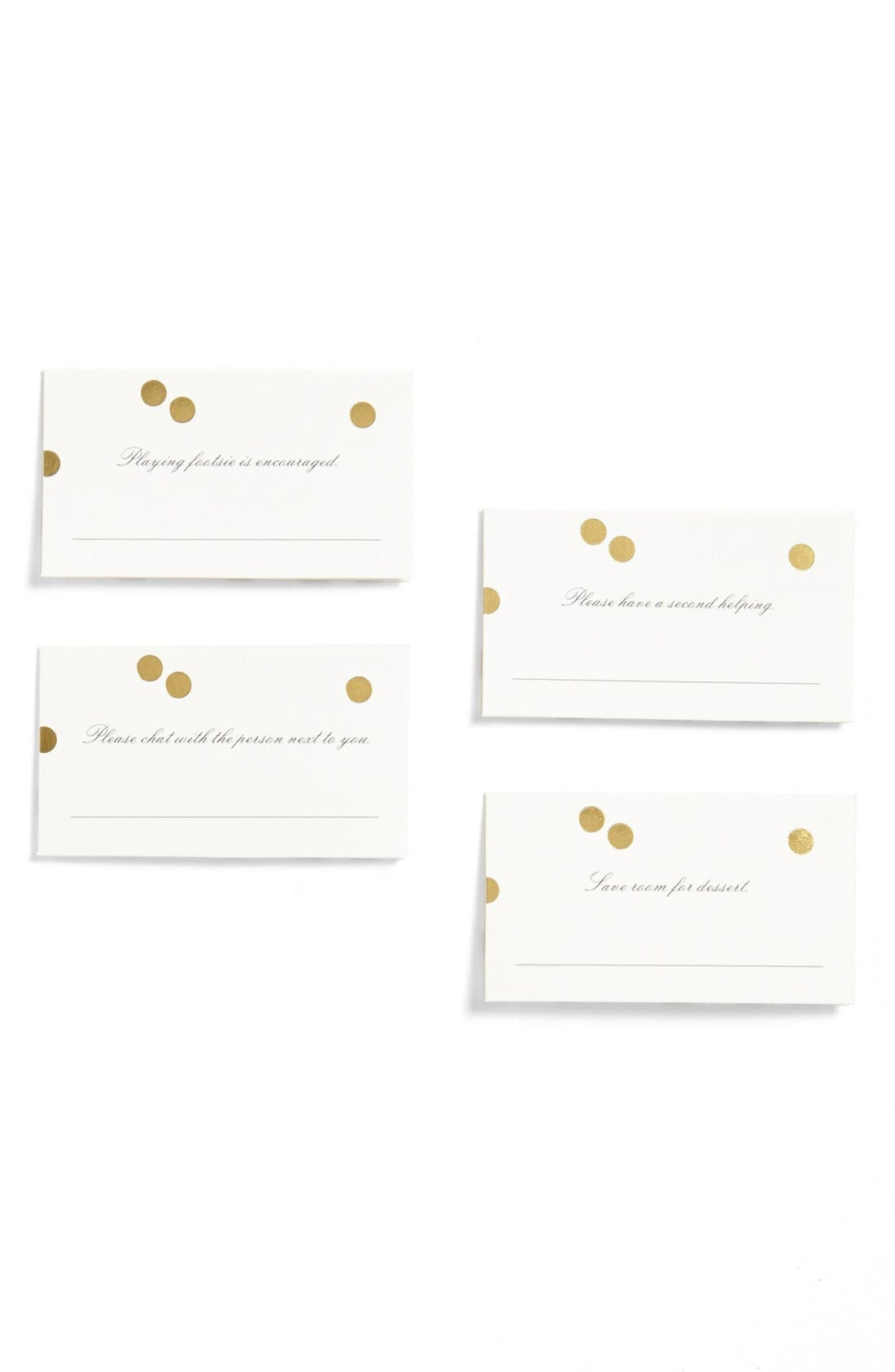 Alternate Image 1 Selected - kate spade new york place cards (set of 12)