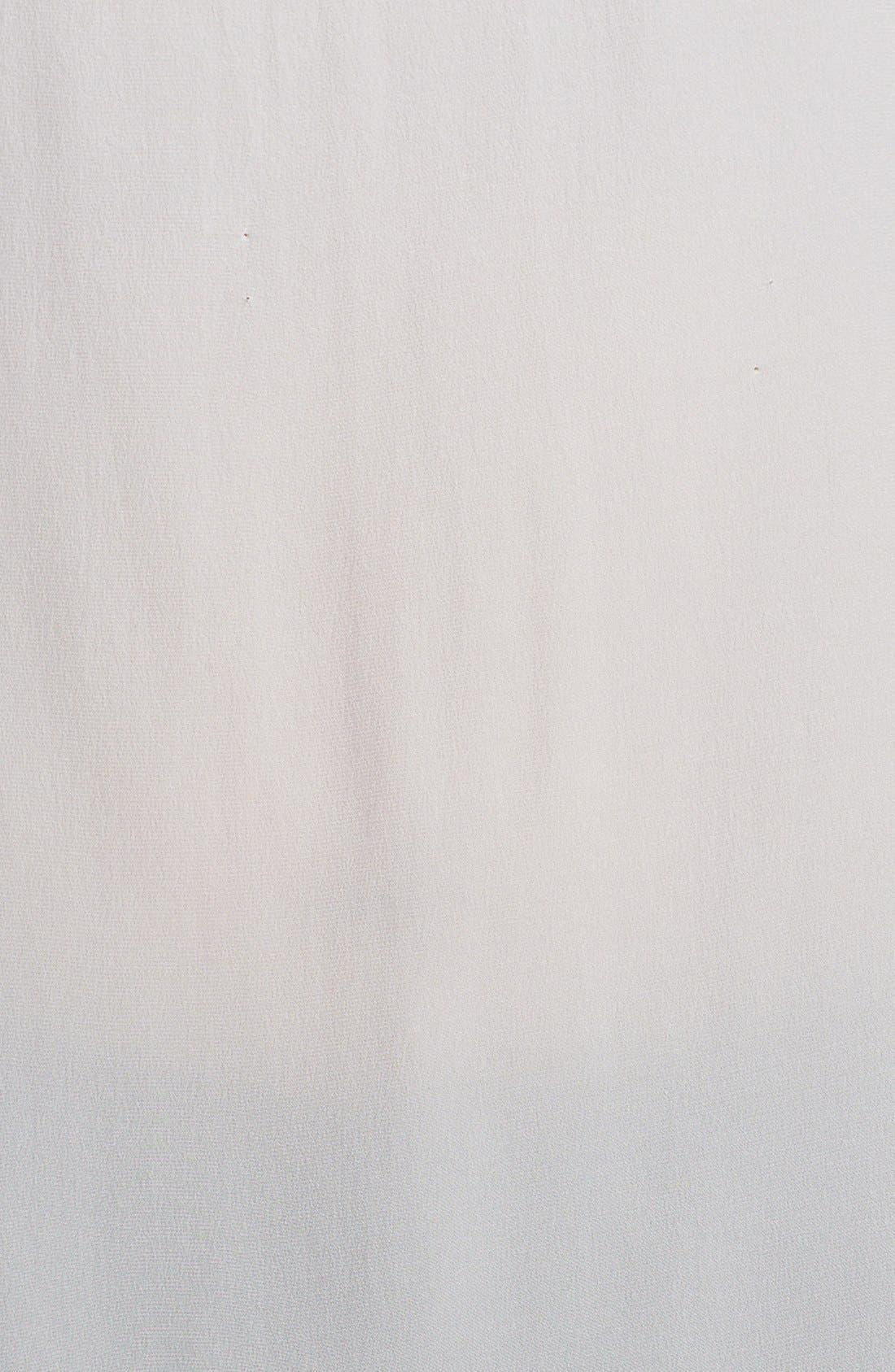 Alternate Image 3  - Eileen Fisher Silk Split Neckline Top (Plus Size)