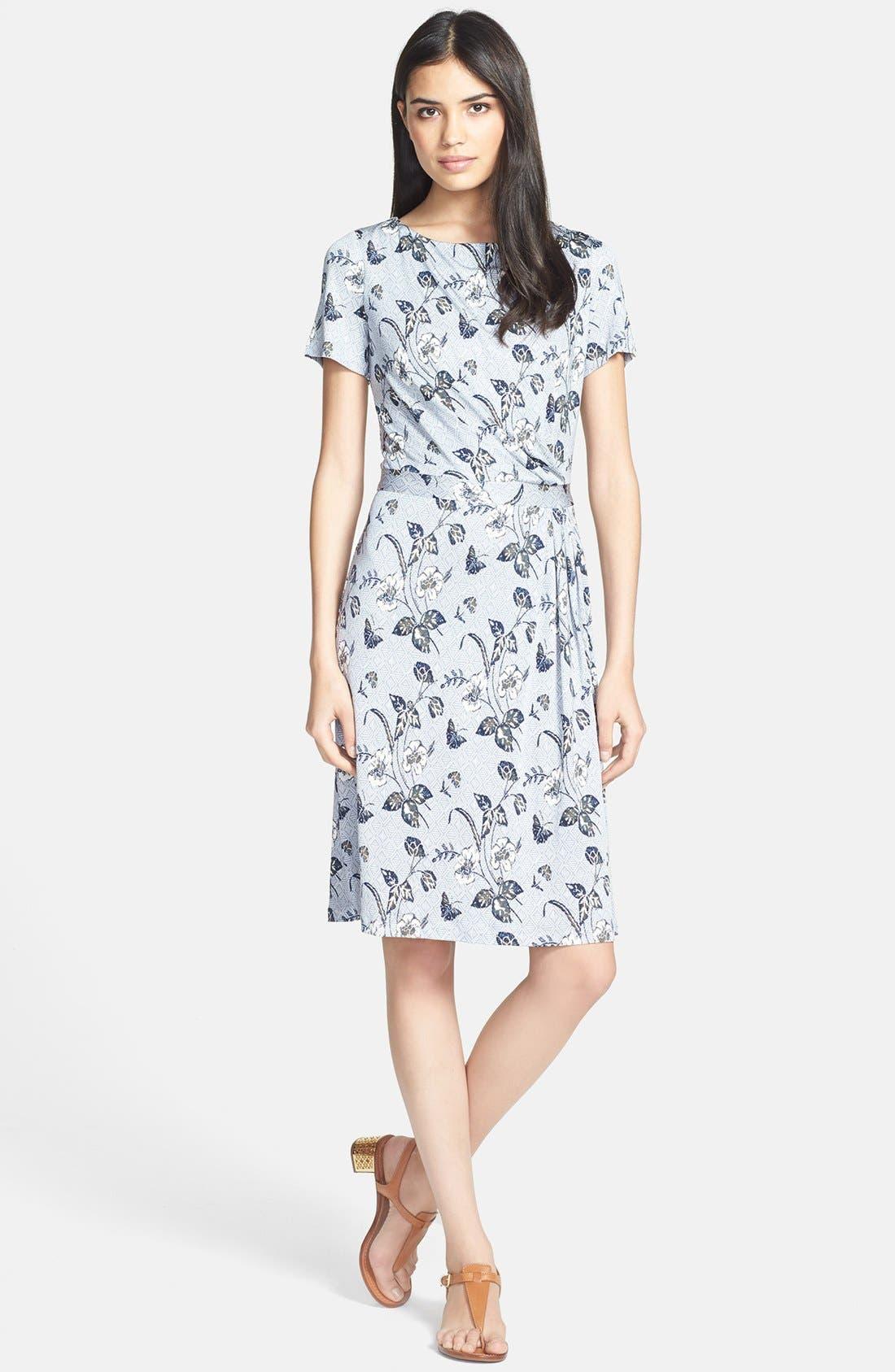 Alternate Image 1 Selected - Tory Burch 'Edna' Silk A-Line Dress