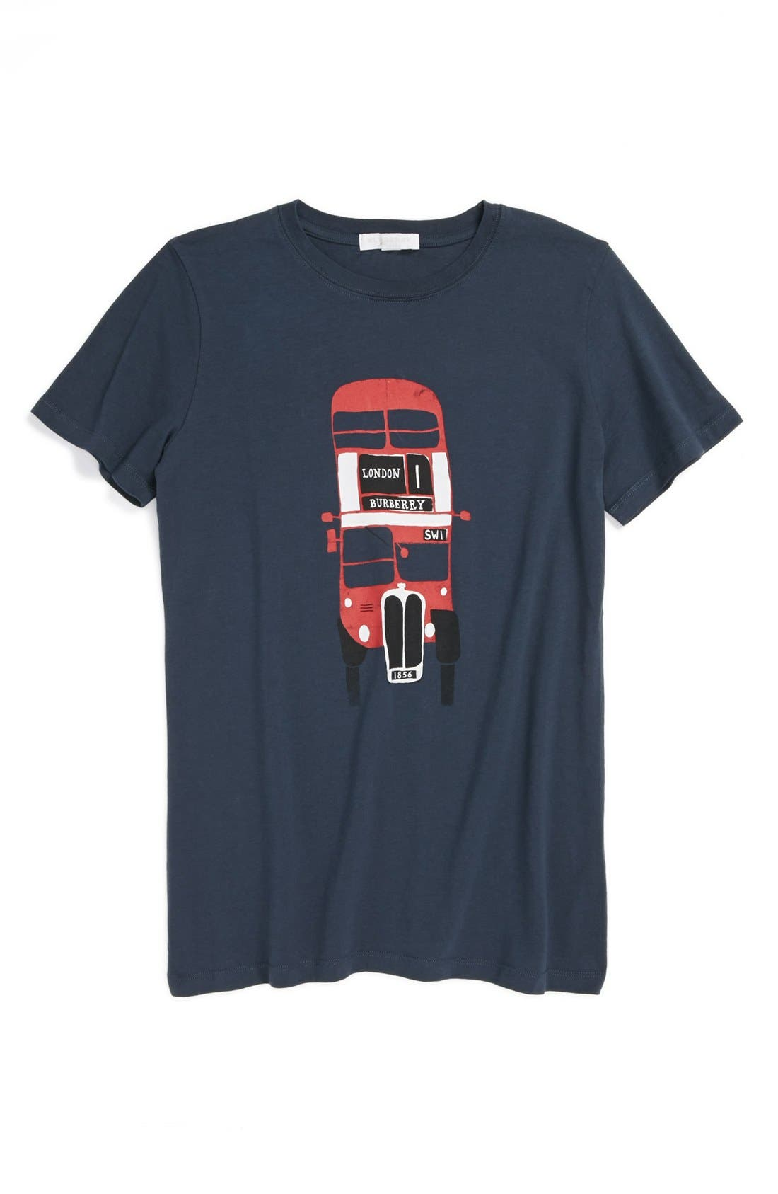 Alternate Image 1 Selected - Burberry Print T-Shirt (Toddler Boys)