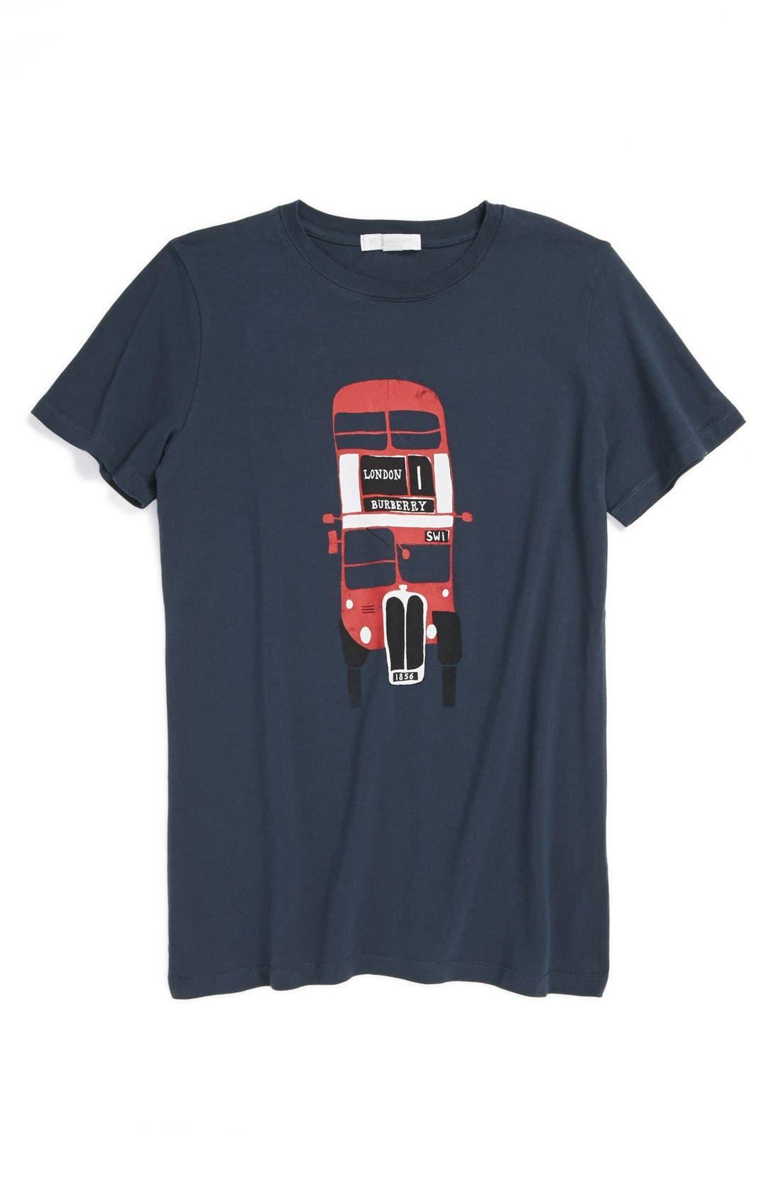 Main Image - Burberry Print T-Shirt (Toddler Boys)