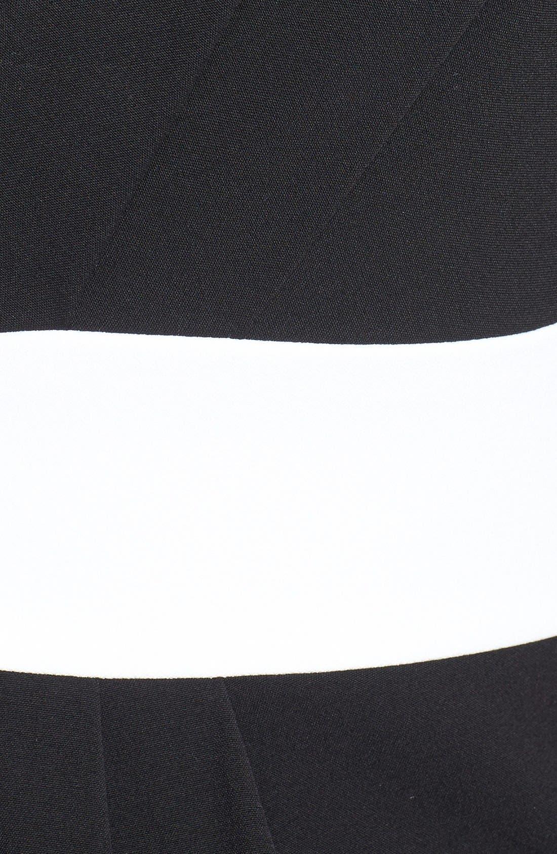 Alternate Image 4  - Isaac Mizrahi New York Back Pleated Shift Dress