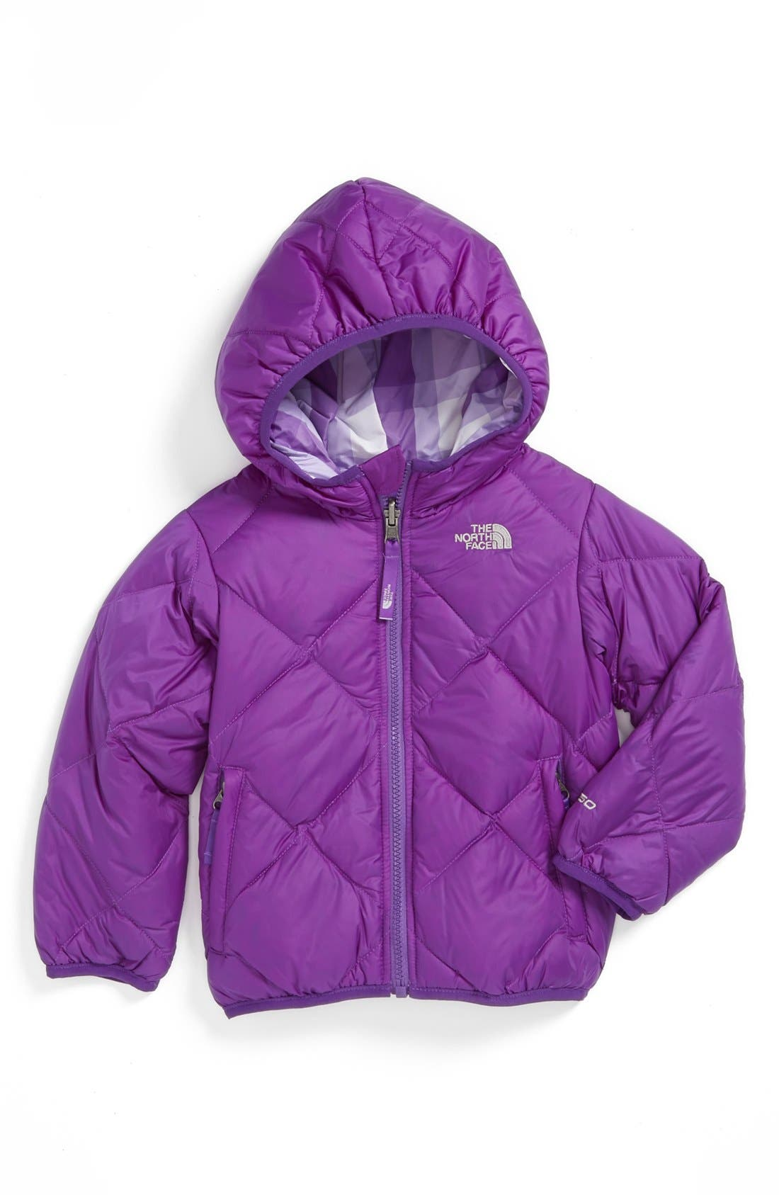 Main Image - The North Face 'Moondoggy' Reversible Jacket (Toddler Girls)