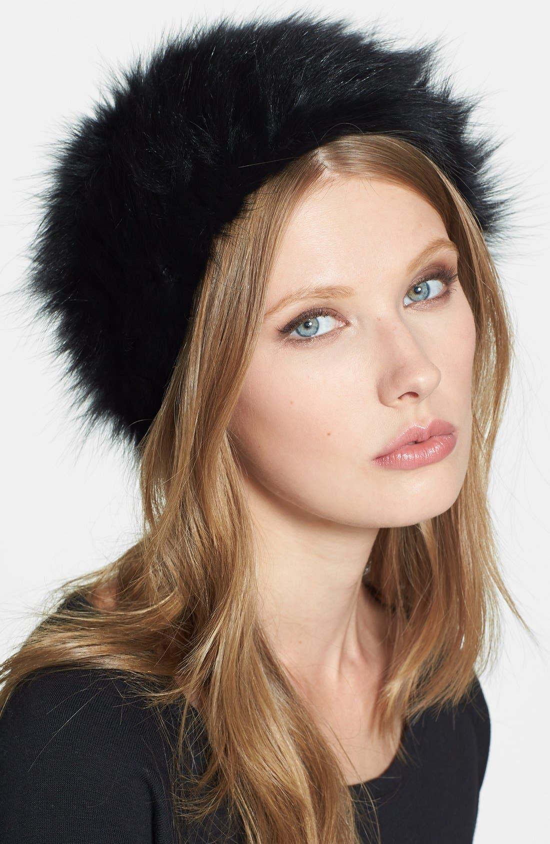 Main Image - Dena Genuine Fox Fur Hat