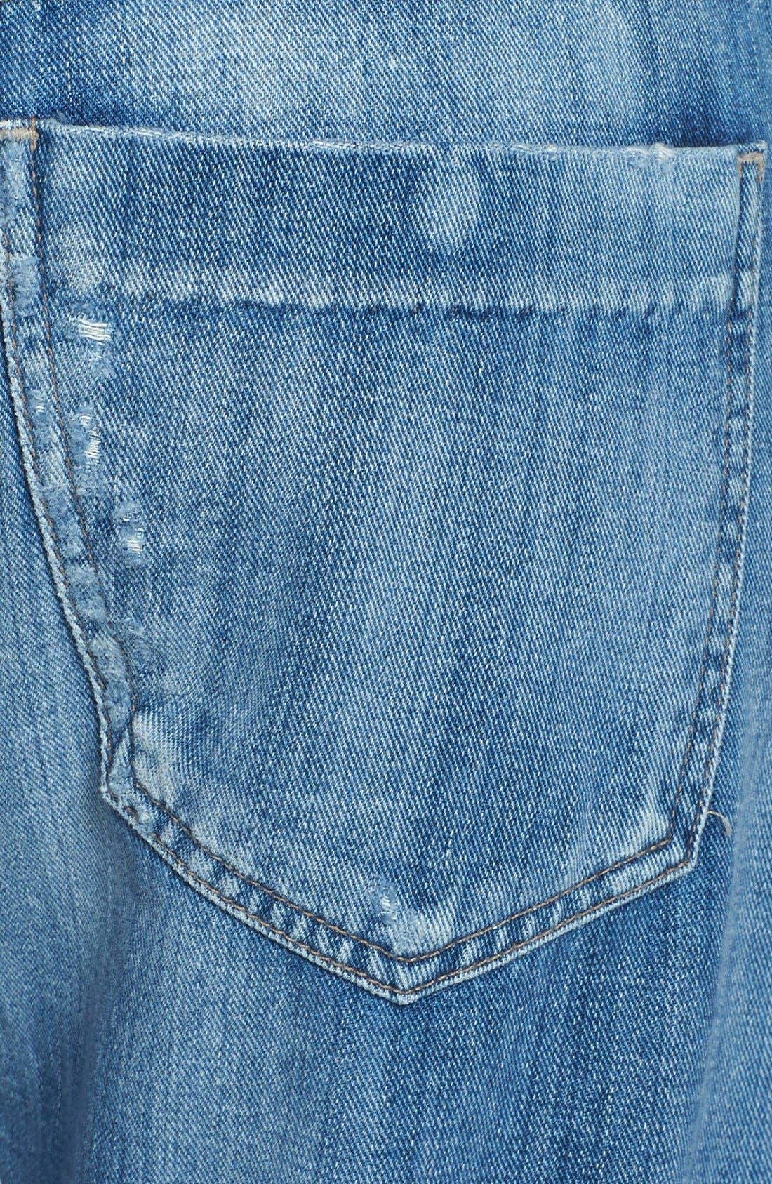 Alternate Image 3  - Citizens of Humanity 'Skylar' Crop Boyfriend Jeans (Circa)