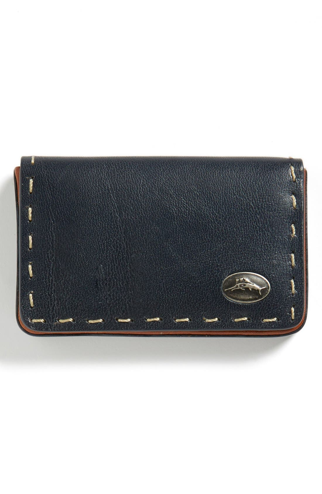 Main Image - Tommy Bahama Pick Stitch Card Case