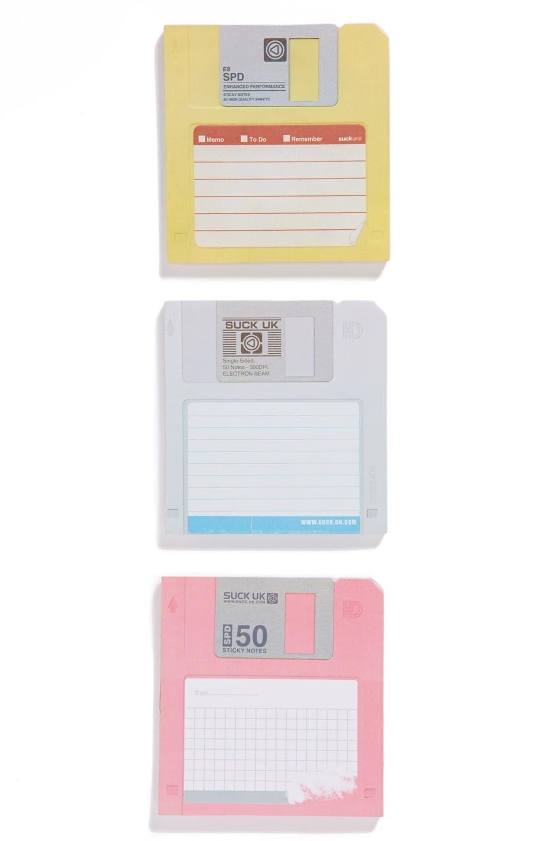 Alternate Image 1 Selected - Suck UK Floppy Disk Sticky Notes
