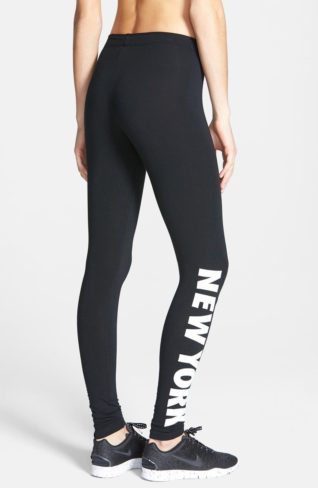Alternate Image 2  - Nike 'Leg-A-See - New York' Leggings