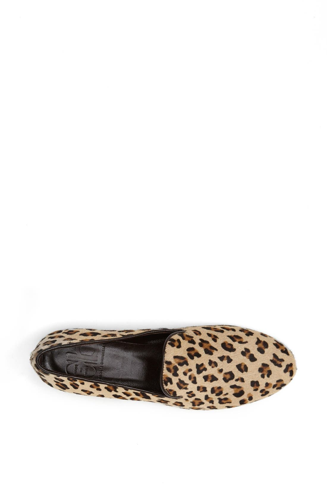 Alternate Image 3  - CB Made in Italy Leopard Print Slipper Flat