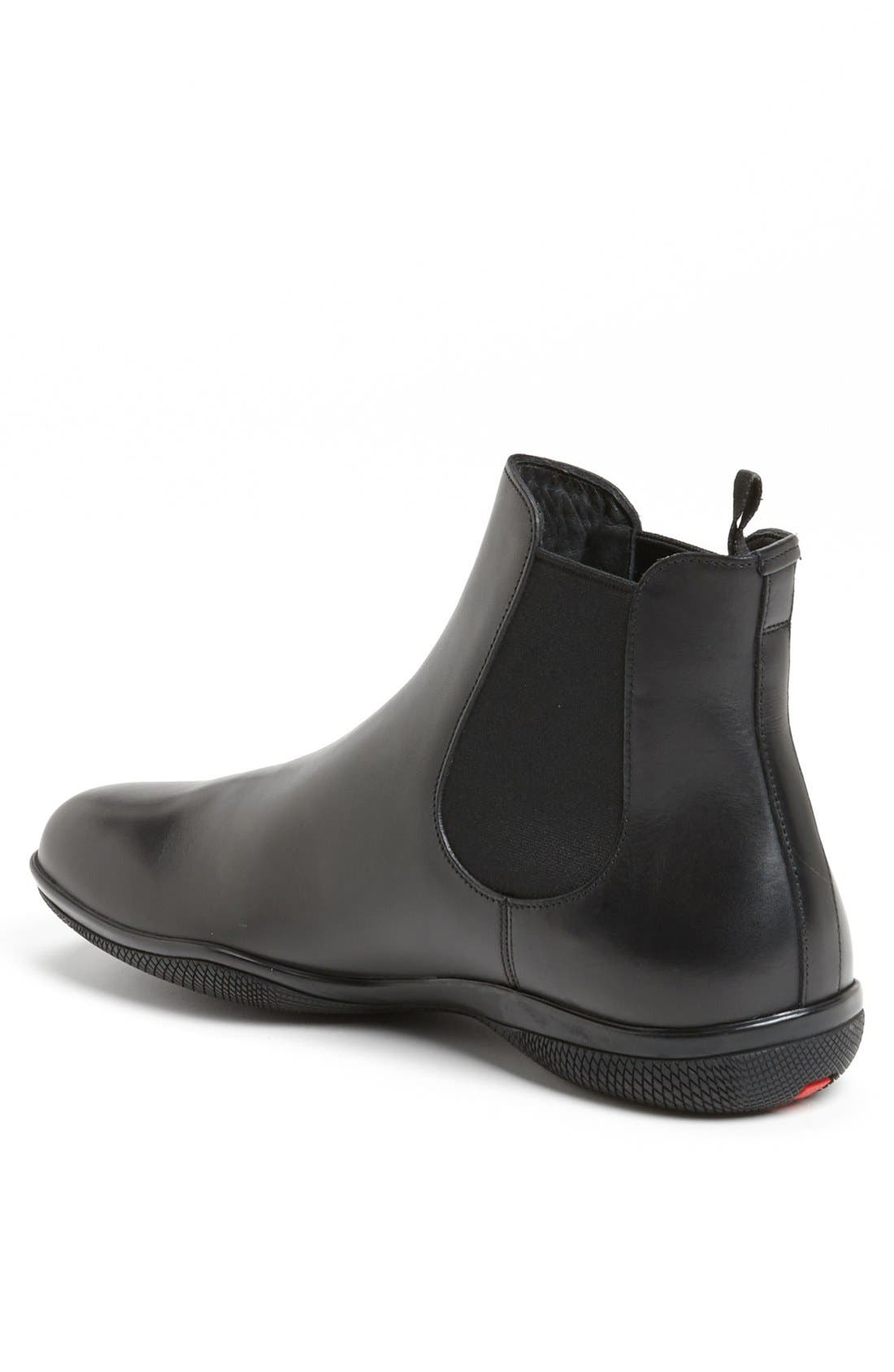 'New Toblak' Chelsea Boot,                             Alternate thumbnail 2, color,                             Black