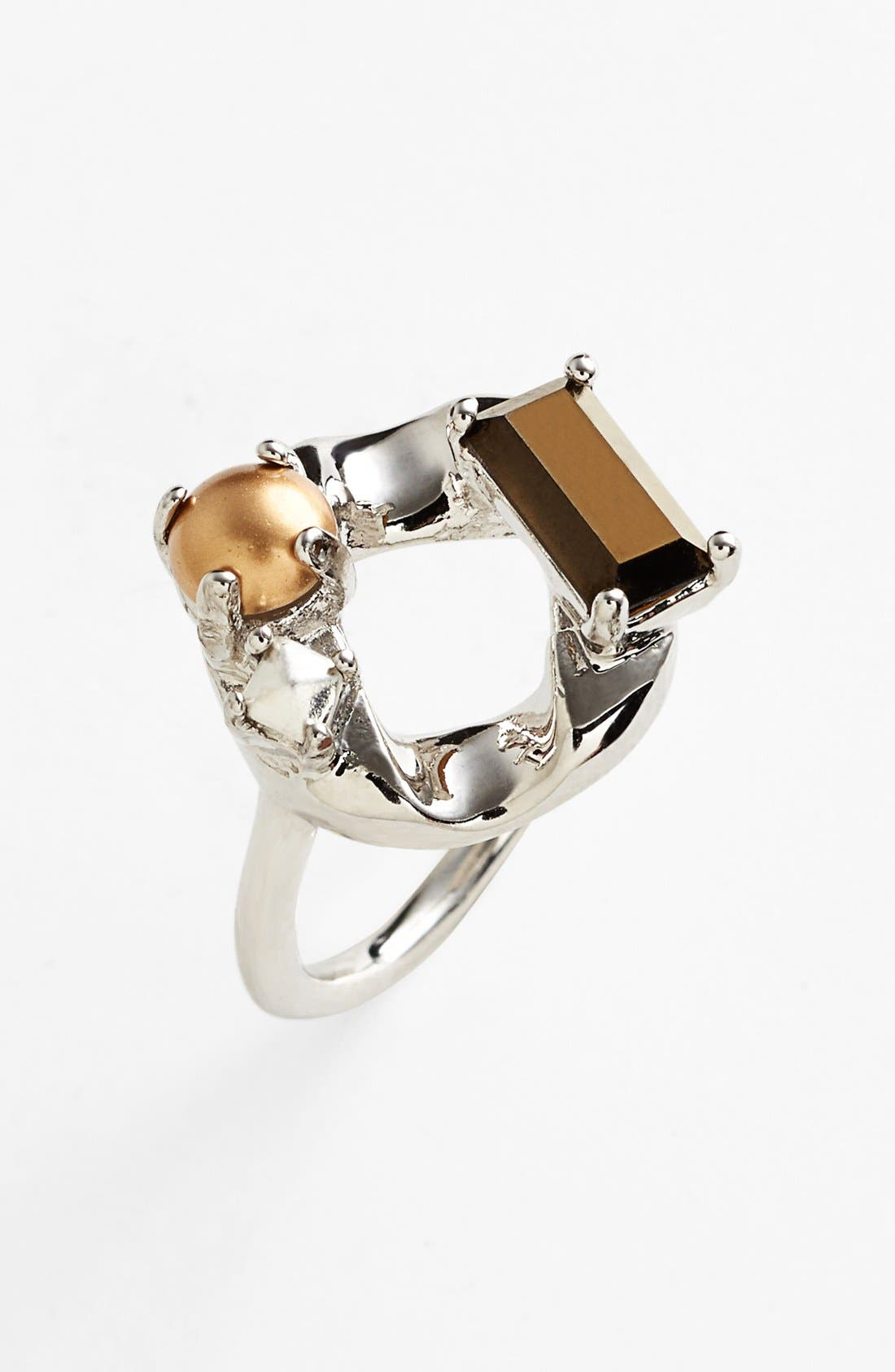 Main Image - MARC BY MARC JACOBS 'Link to Katie' Large Open Ring