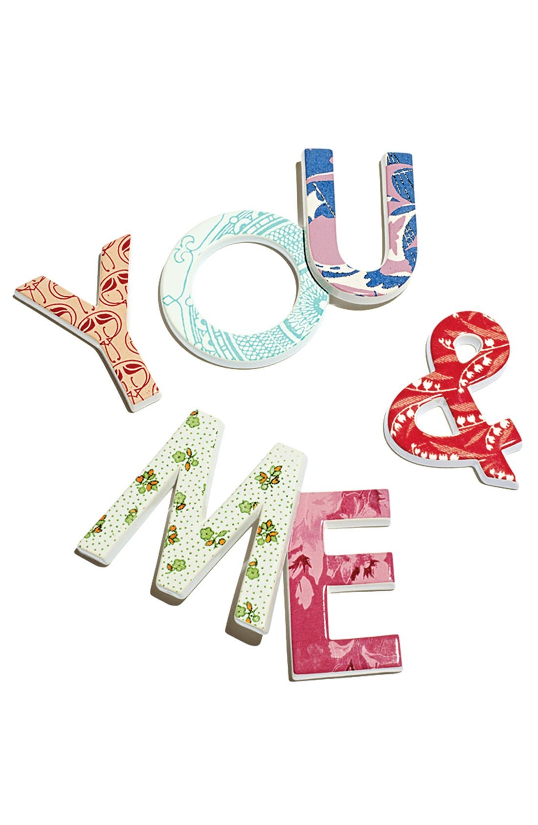 'To The Letter - A' Decorative Letter,                             Main thumbnail 1, color,