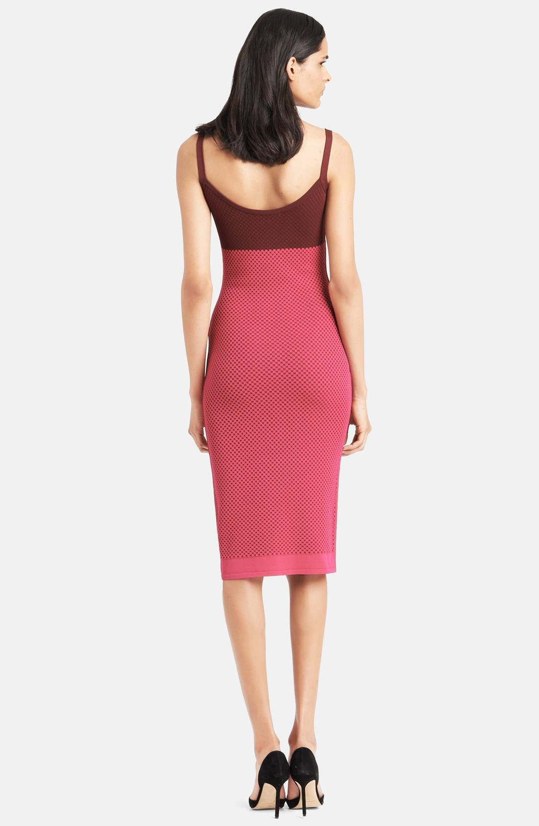 Alternate Image 2  - Narciso Rodriguez Colorblock Knit Tank Dress