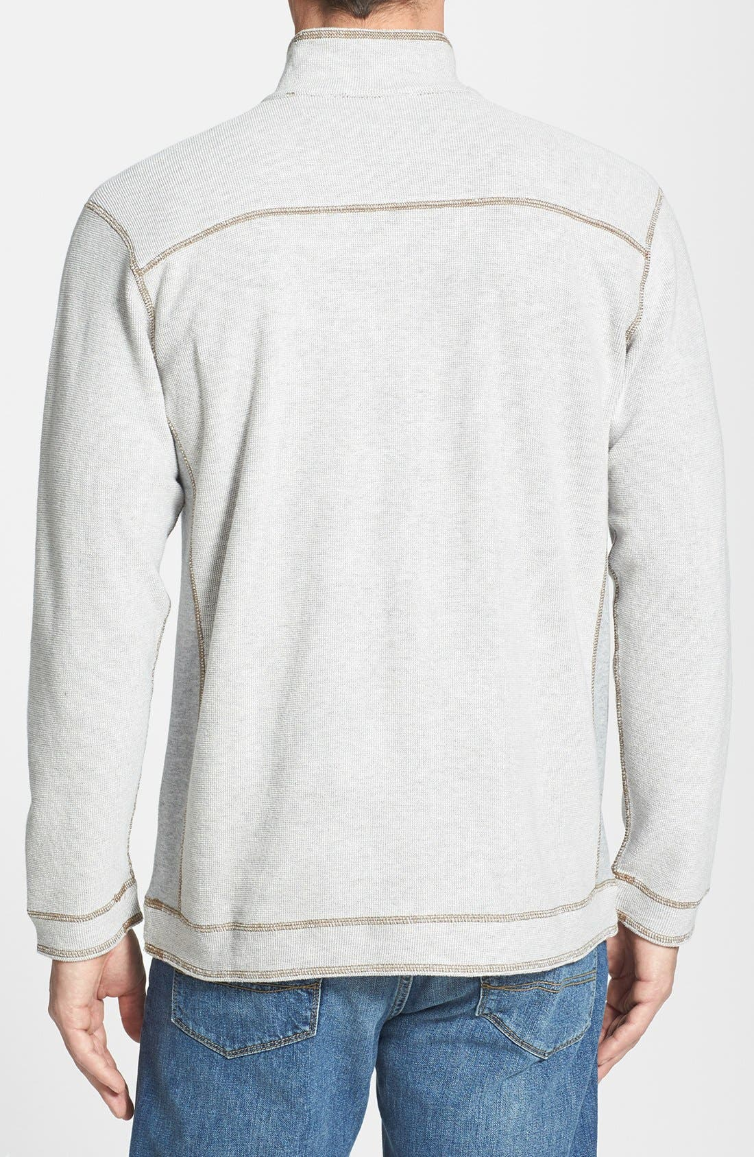 Alternate Image 3  - Tommy Bahama Denim 'Grand Isles' Reversible Half Zip Sweatshirt