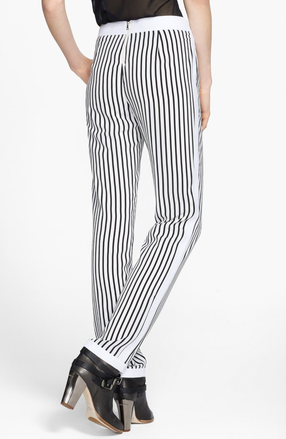 Alternate Image 2  - J Brand Ready-To-Wear 'Delia' Stripe Trousers