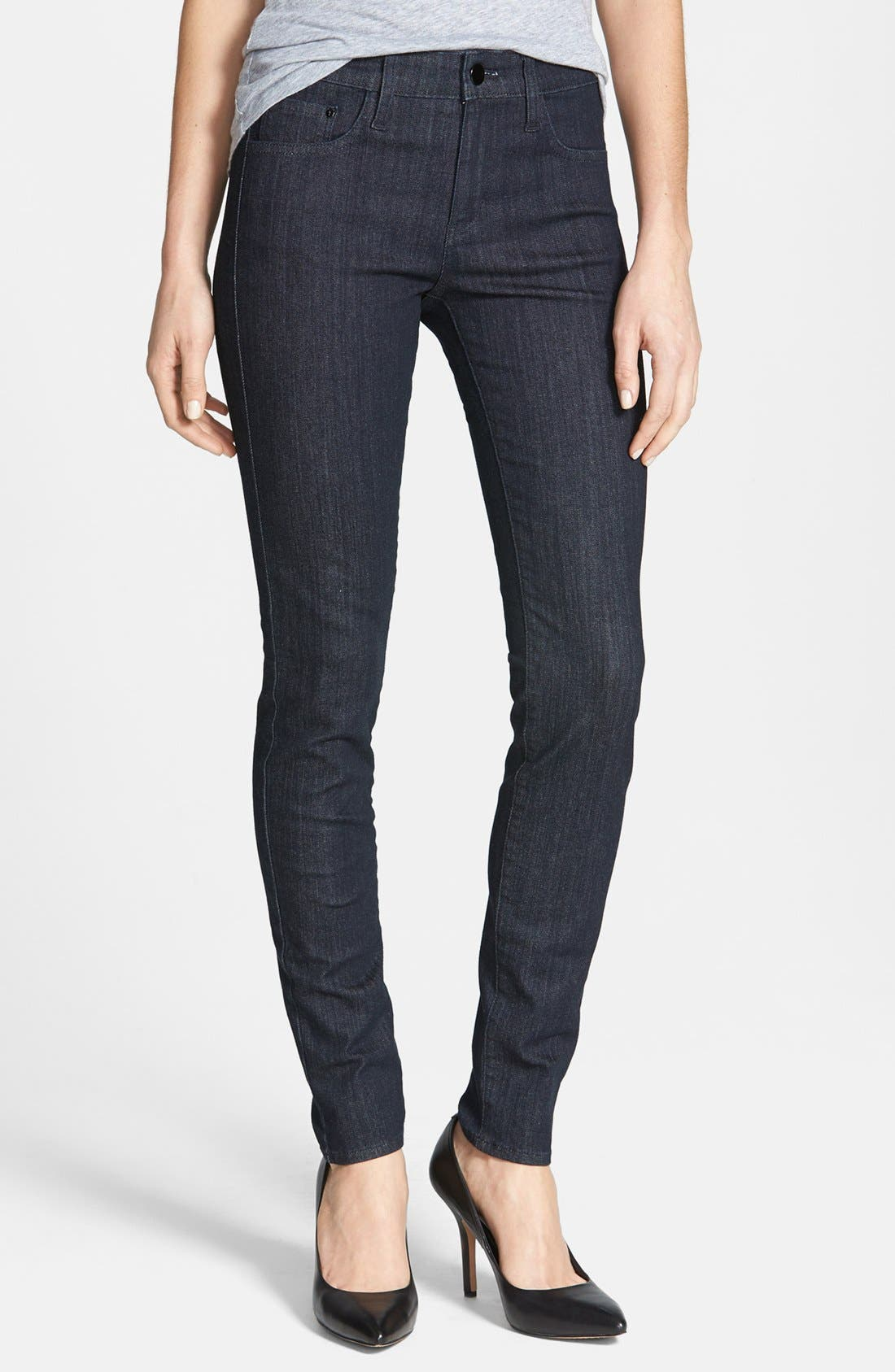 Alternate Image 1 Selected - !iT Collective 'Lauren' Easy Skinny Jeans (Pure)