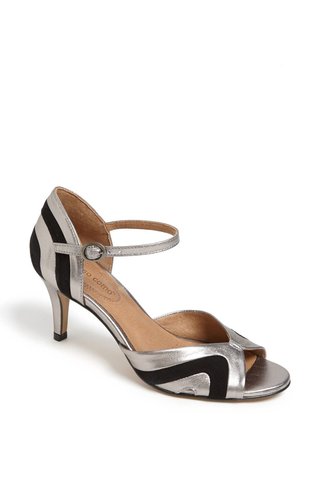 Alternate Image 1 Selected - Corso Como 'Jesuit' Peep Toe Leather Pump