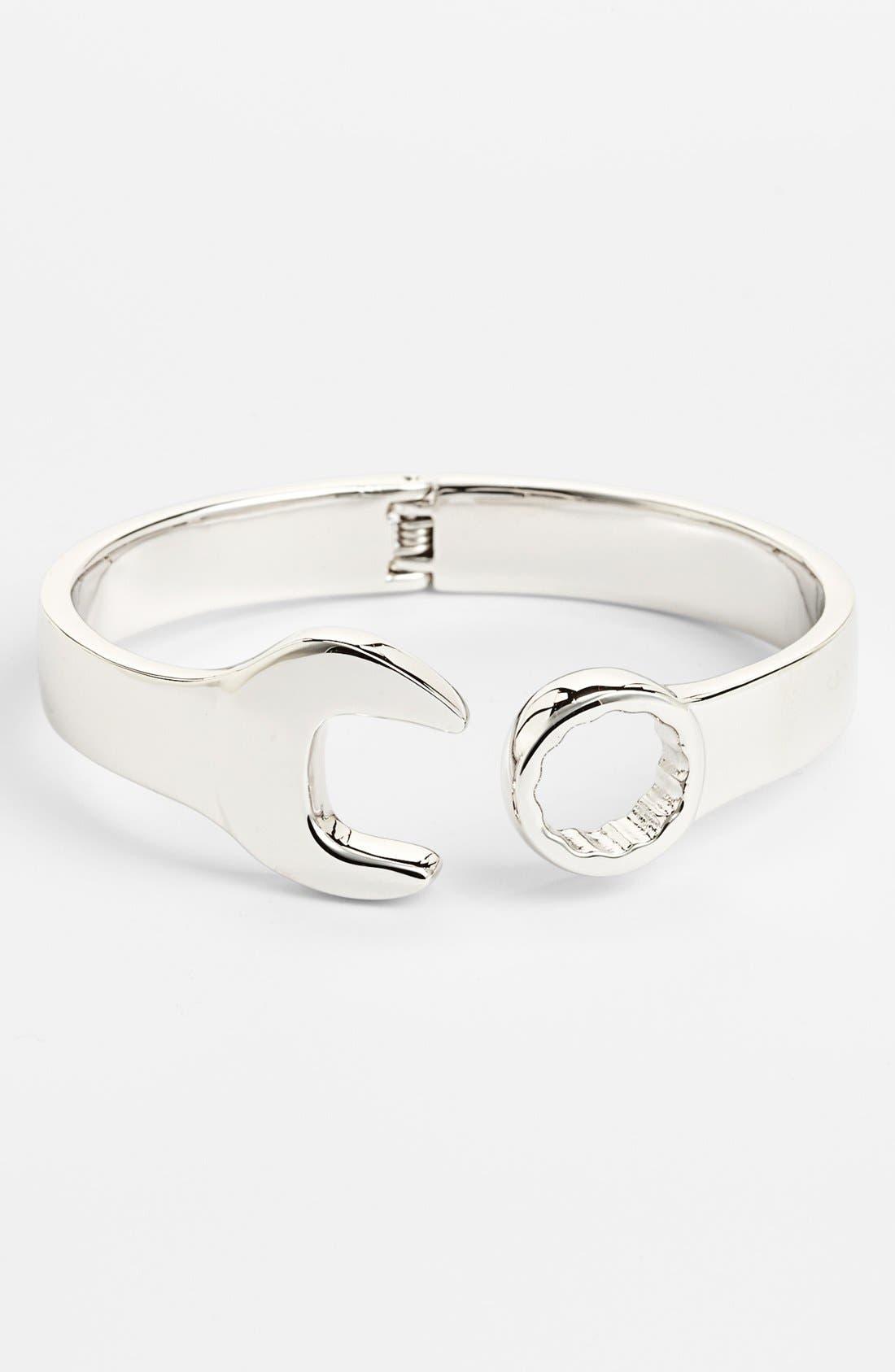 Alternate Image 1 Selected - Mateo Bijoux Hinged Wrench Bracelet