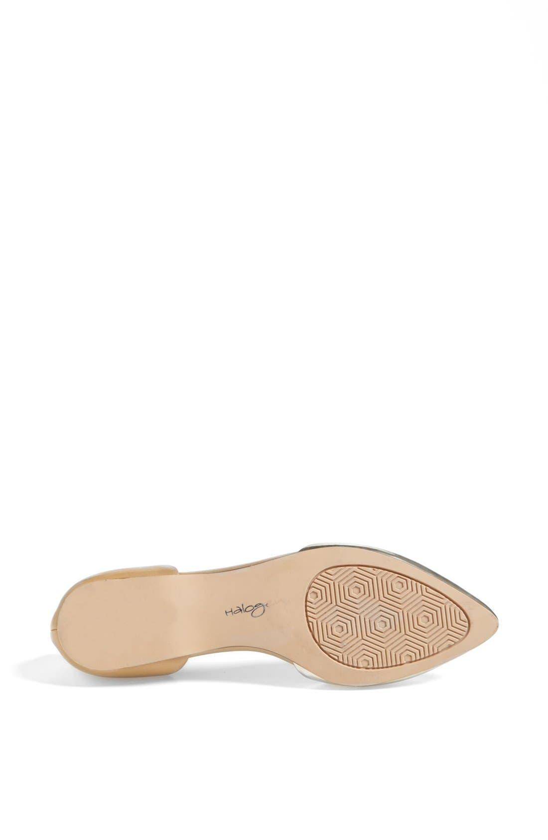 Alternate Image 4  - Halogen® 'Kayla' Pointy Toe Flat