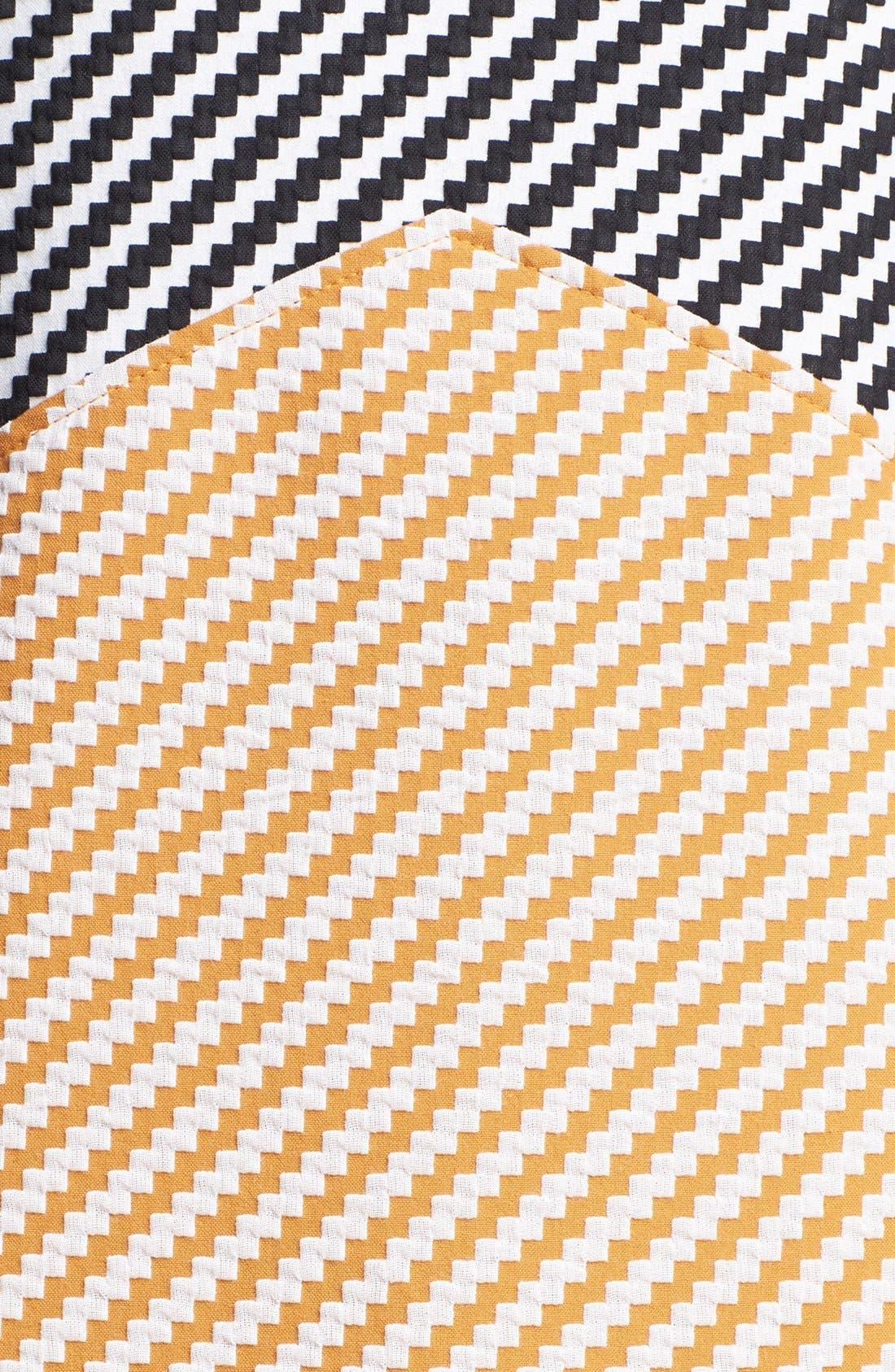 Alternate Image 3  - Carven Zigzag Tweed Dress