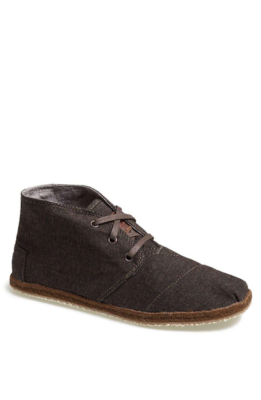 Alternate Image 1 Selected - TOMS 'Botas - Desert' Denim Boot (Men)