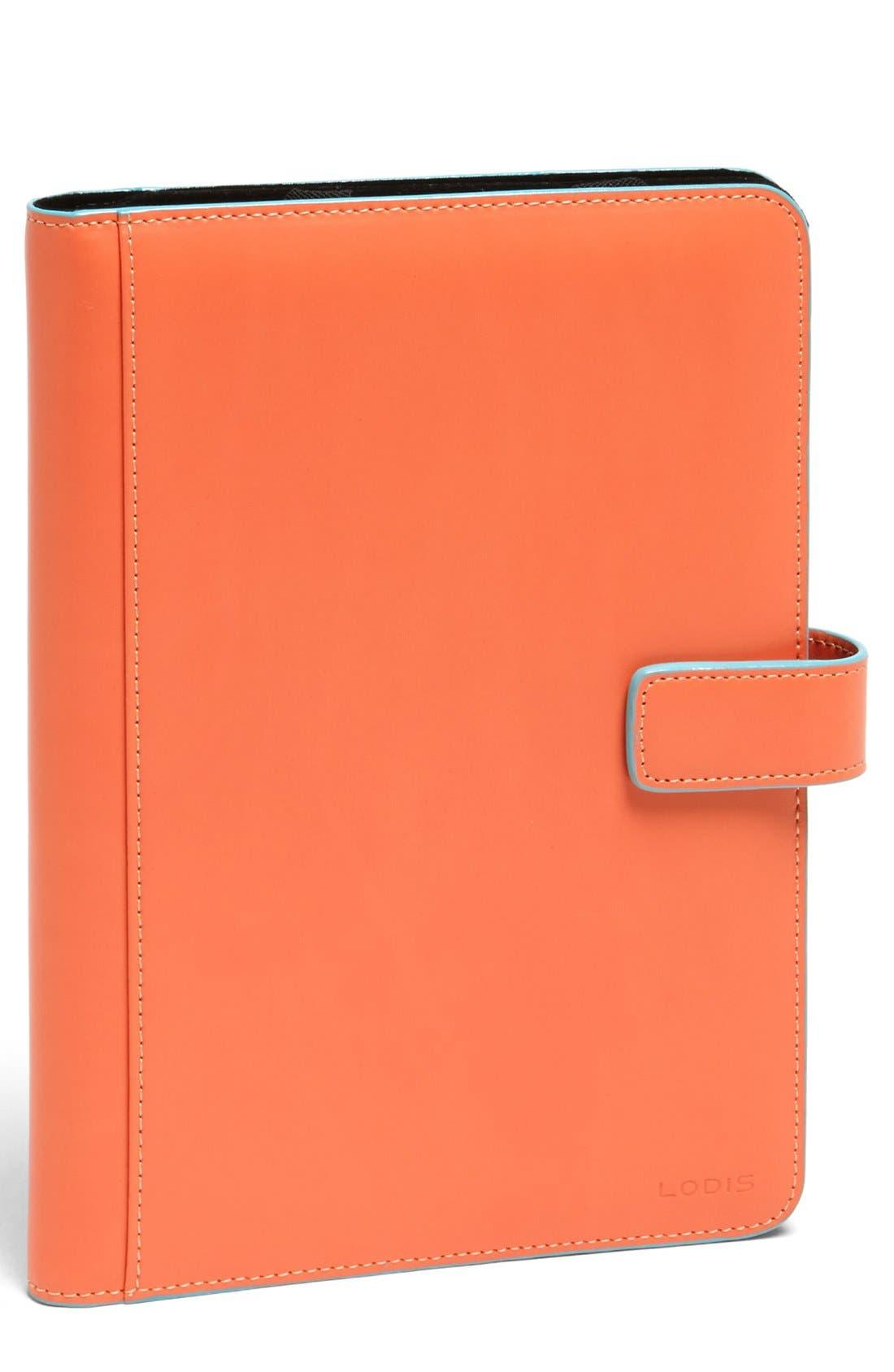 Lodis 'Swivel' iPad mini Case,                             Main thumbnail 1, color,                             Orange