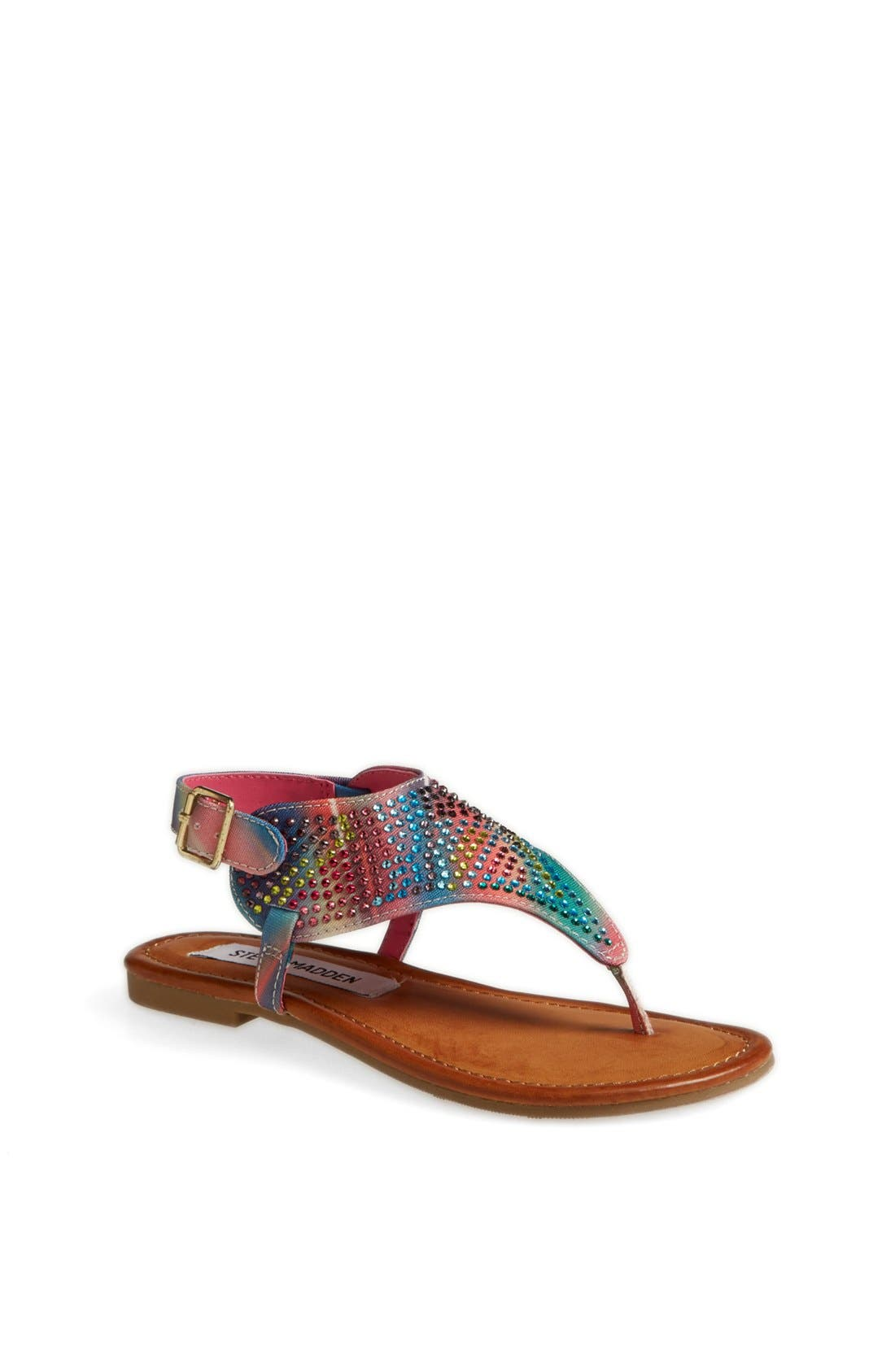 Alternate Image 1 Selected - Steve Madden 'Bizee' Sandal (Toddler, Little Kid & Big Kid)
