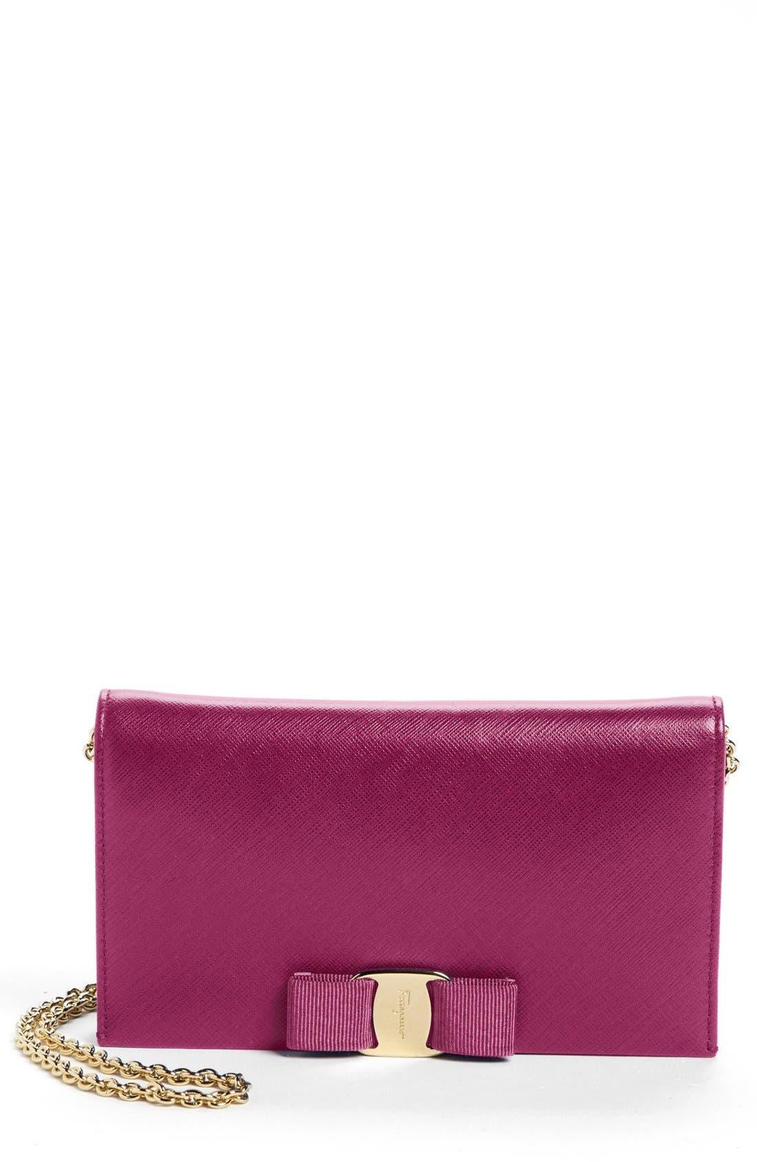 Alternate Image 1 Selected - Salvatore Ferragamo 'Miss Vara' Clutch Wallet