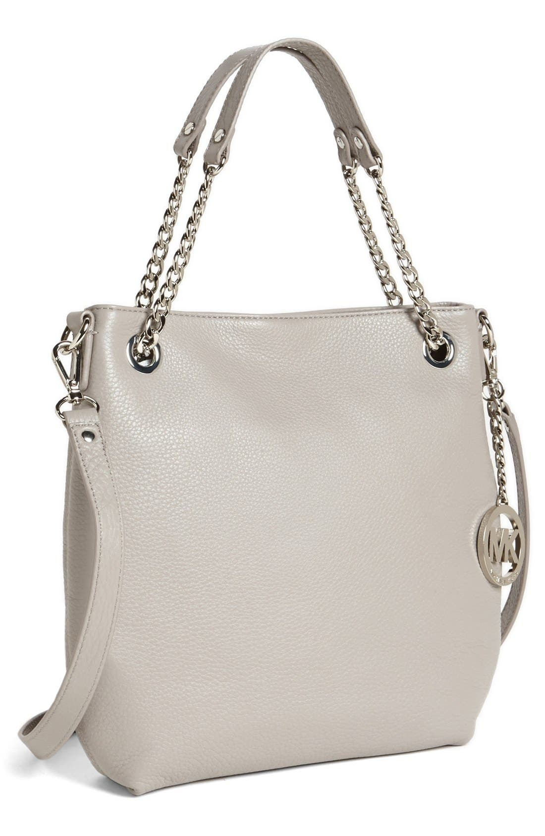 Main Image - MICHAEL Michael Kors 'Jet Set Chain - Medium' Leather Convertible Shoulder Bag