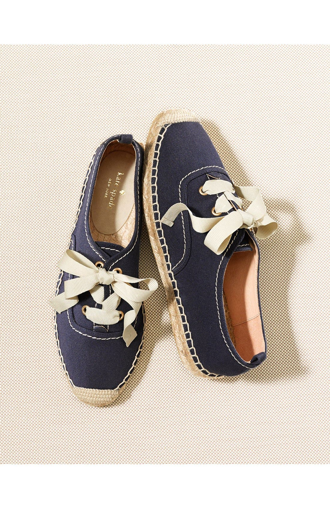 Alternate Image 5  - kate spade new york 'lina' espadrille oxford