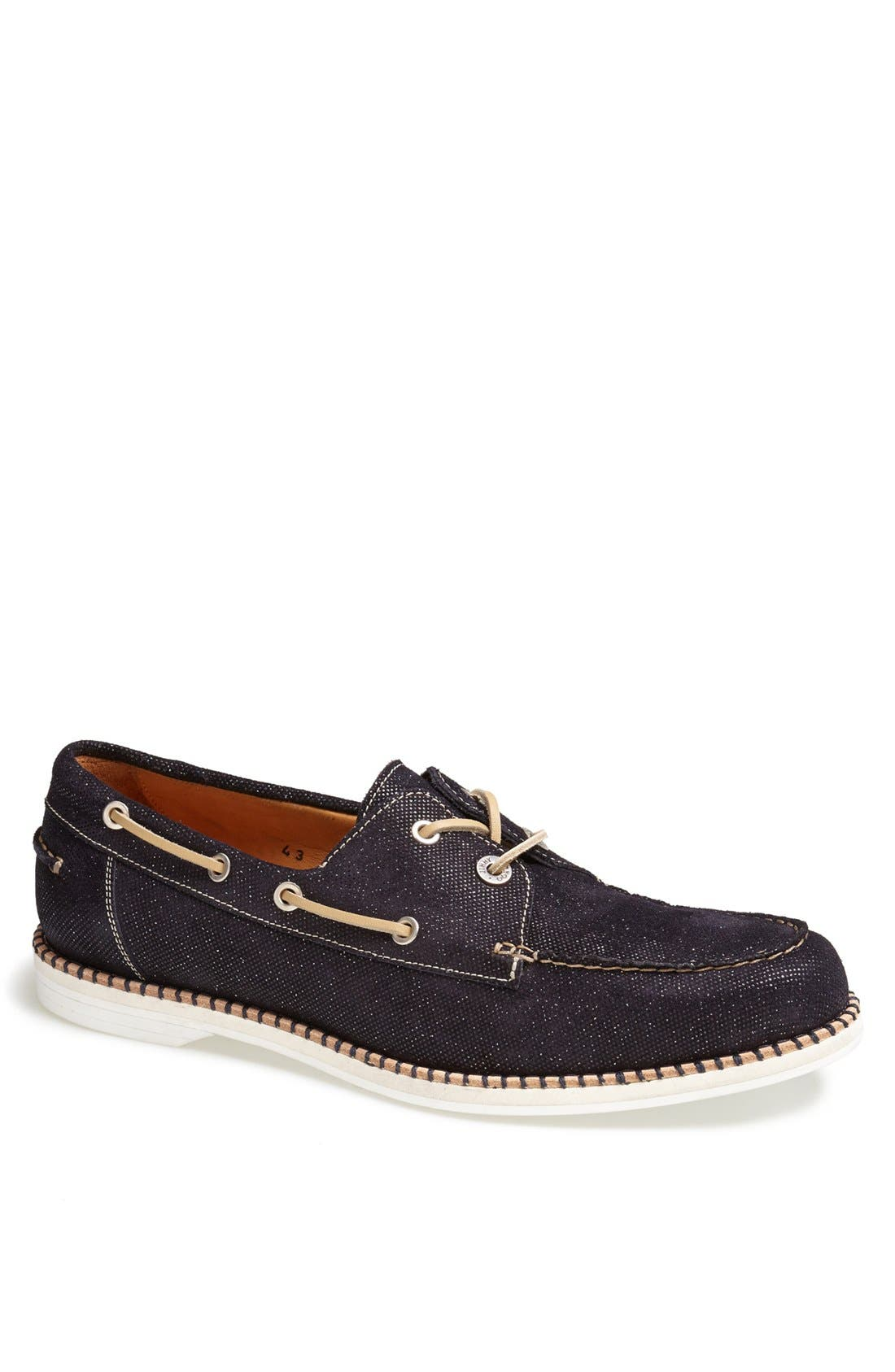Alternate Image 1 Selected - Jimmy Choo 'Danby' Glitter Boat Shoe