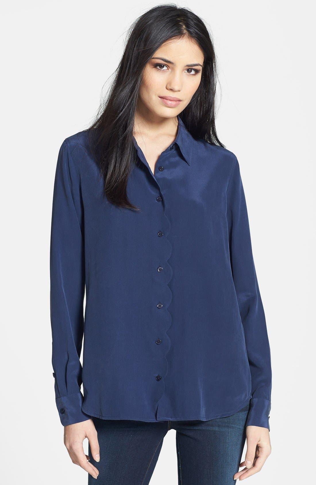 Alternate Image 1 Selected - Equipment 'Brett' Silk Shirt