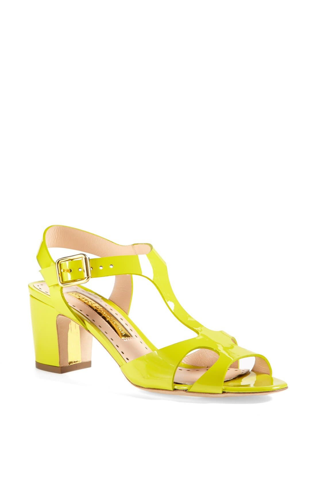 Alternate Image 1 Selected - Rupert Sanderson 'Ischia' Patent Leather Sandal