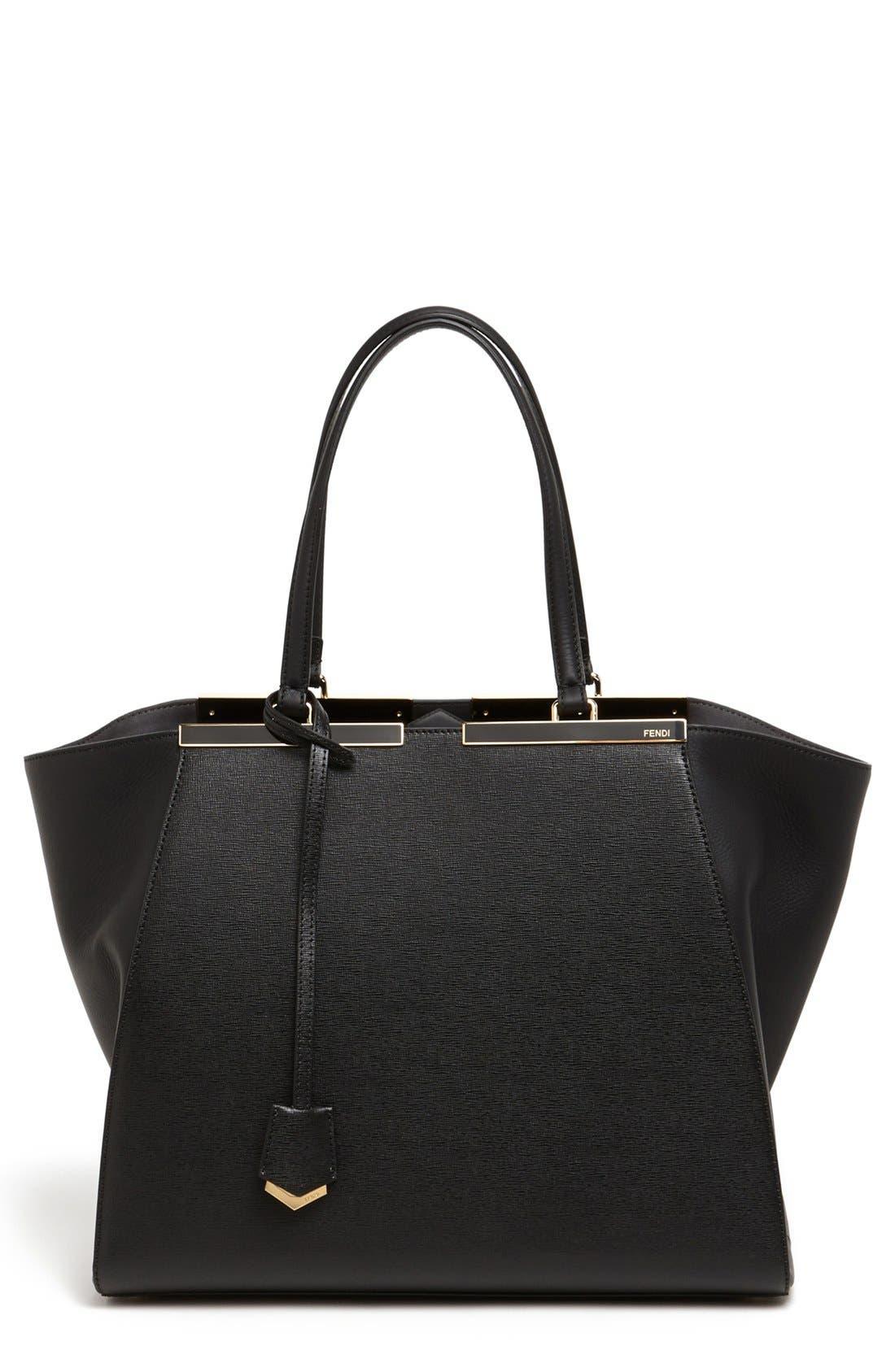 Main Image - Fendi '3Jours' Leather Shopper