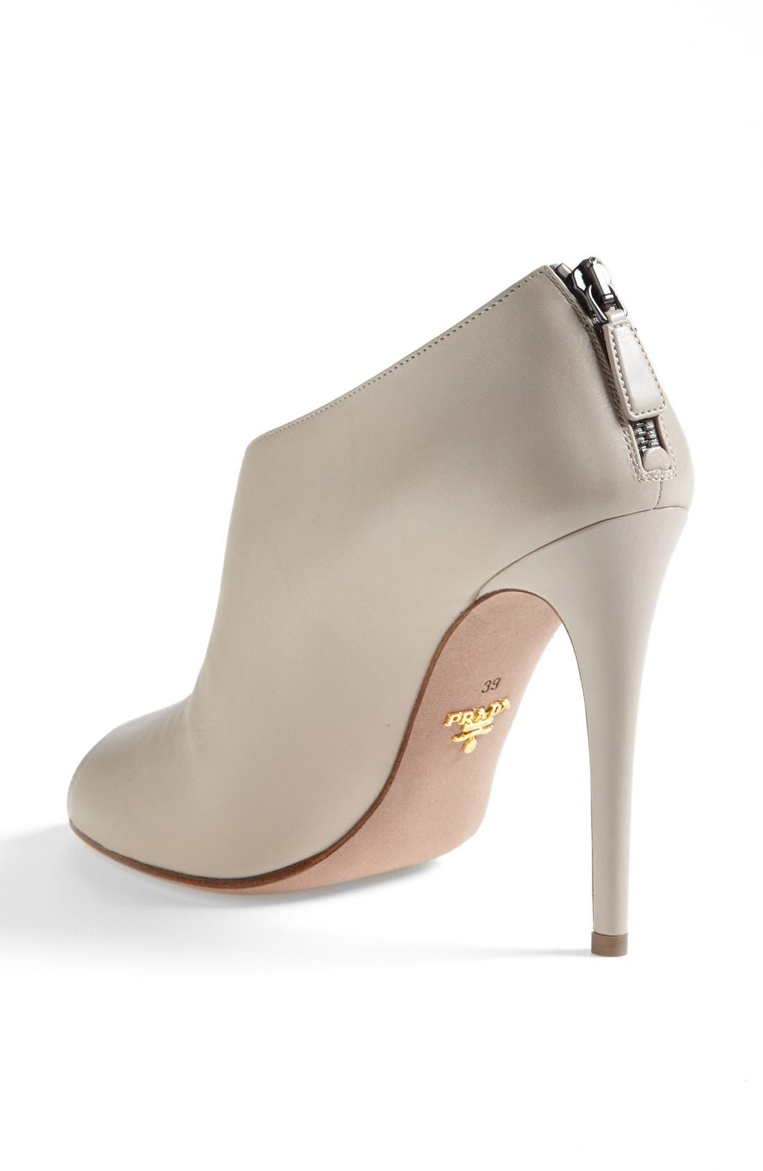 Alternate Image 2  - Prada Peep Toe Bootie