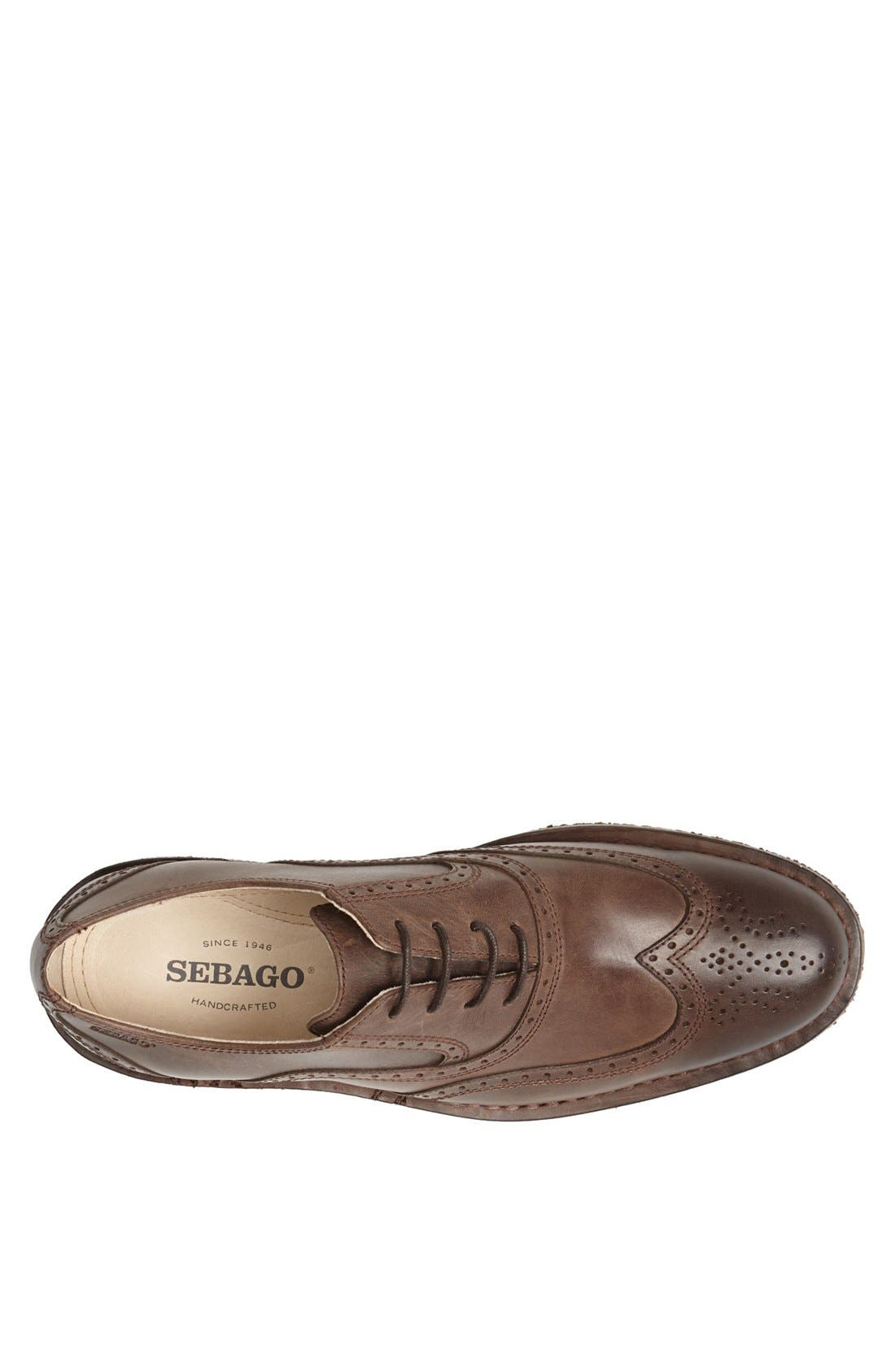 Alternate Image 3  - Sebago 'Brattle' Wingtip Oxford (Online Only)